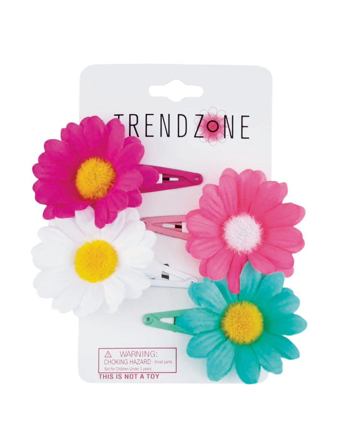 Trend zone daisy snaps shop kids hair accessories at heb izmirmasajfo