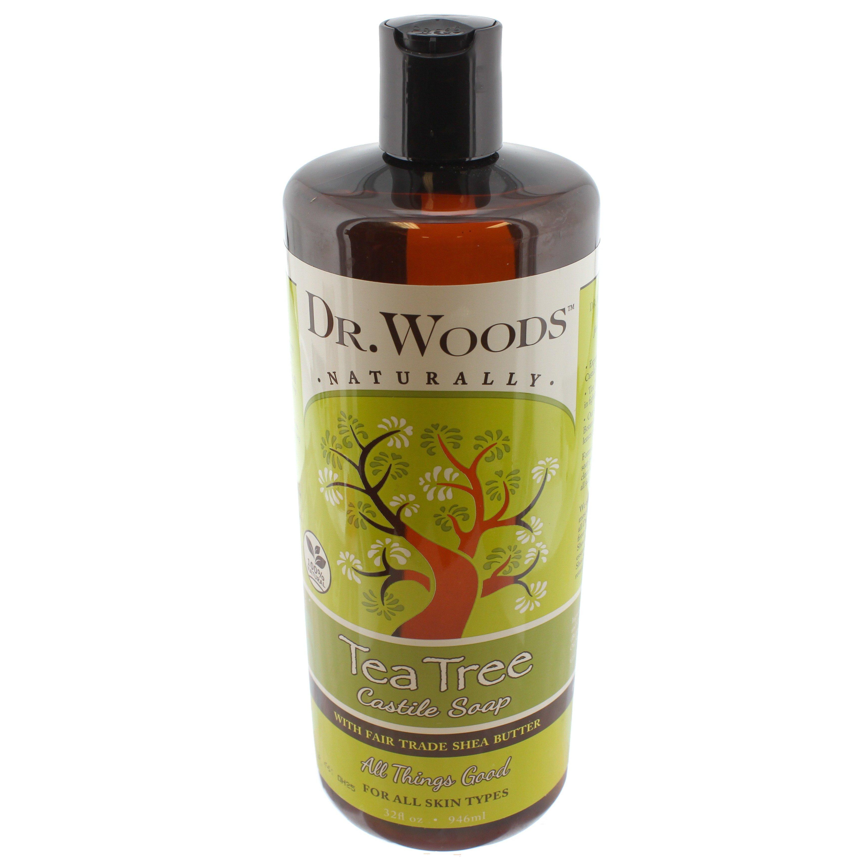 Dr. Woods Tea Tree Castile Soap - Shop ...