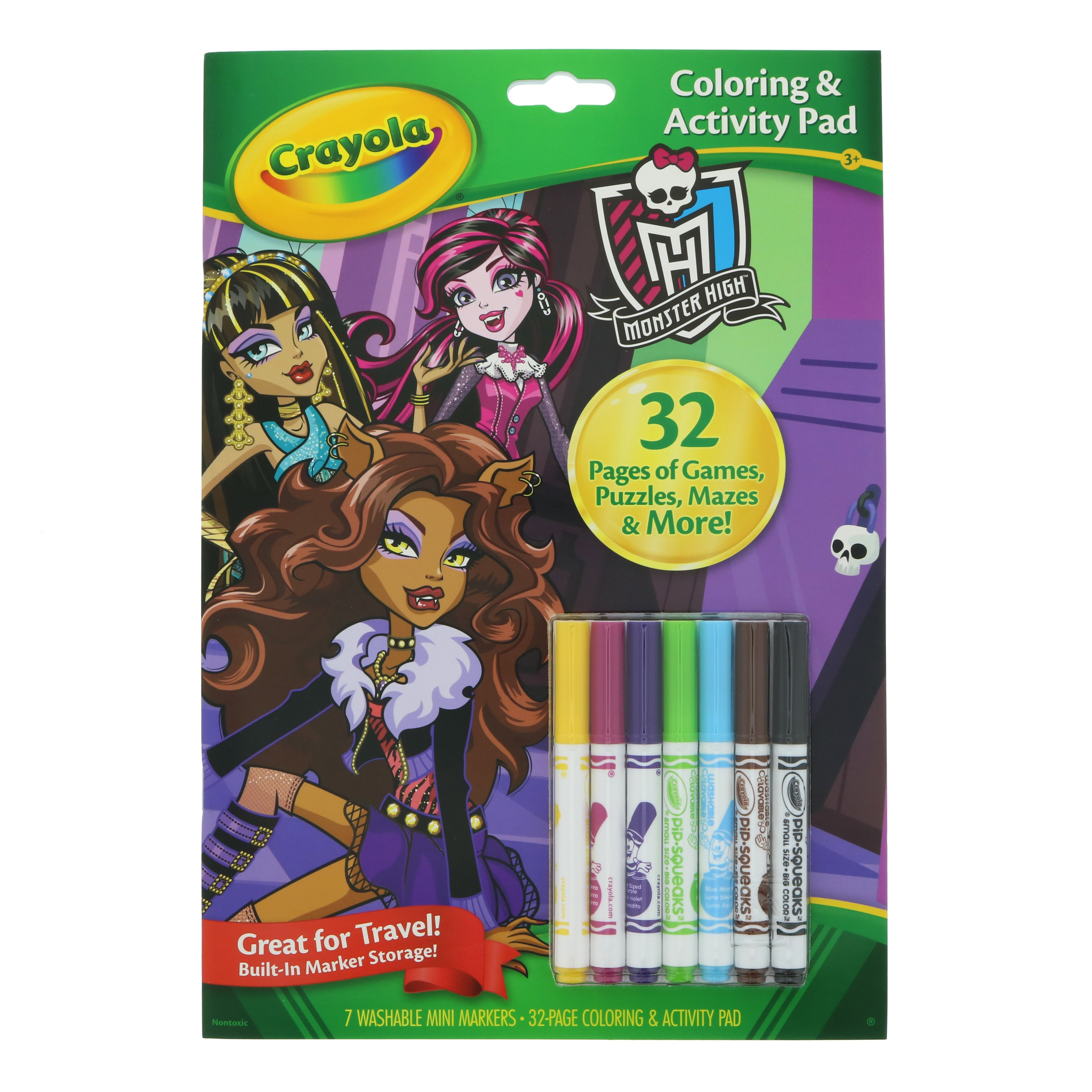 - Crayola Coloring Activity Book Monster High - Shop Books