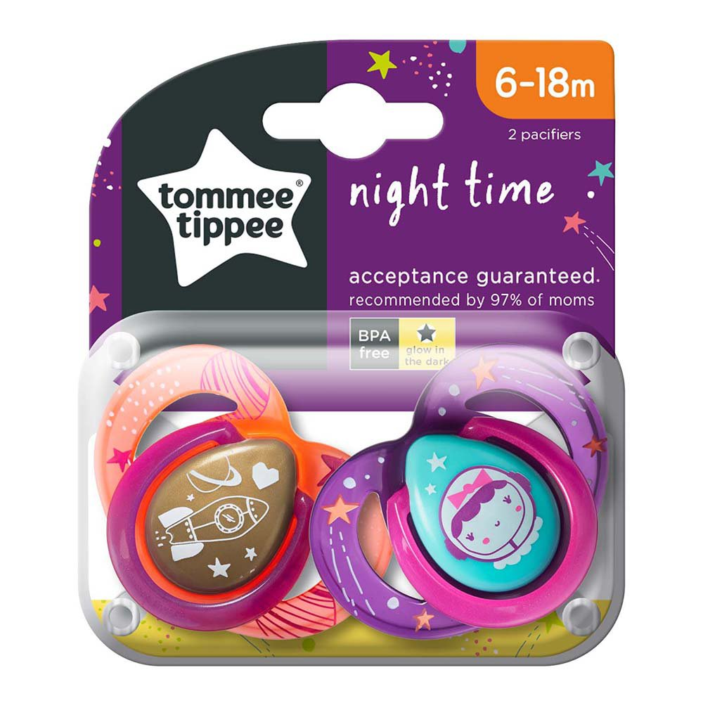 Tommee Tippee Soother 6-18 Months Assorted Design