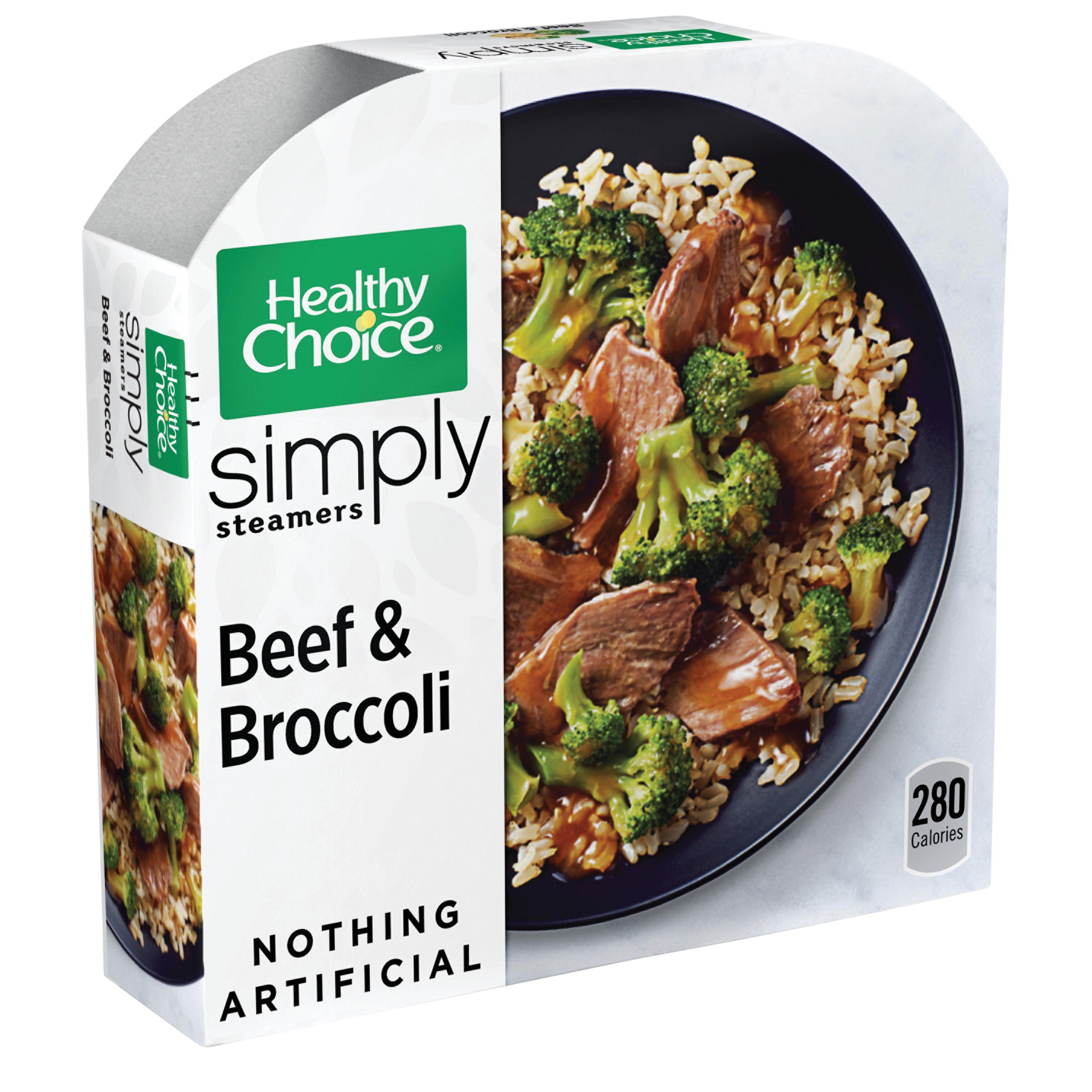 Healthy Choice Steamers Beef & Broccoli
