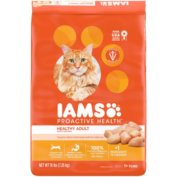 Iams Proactive Health Adult Chicken Cat Food Shop Dry at HEB