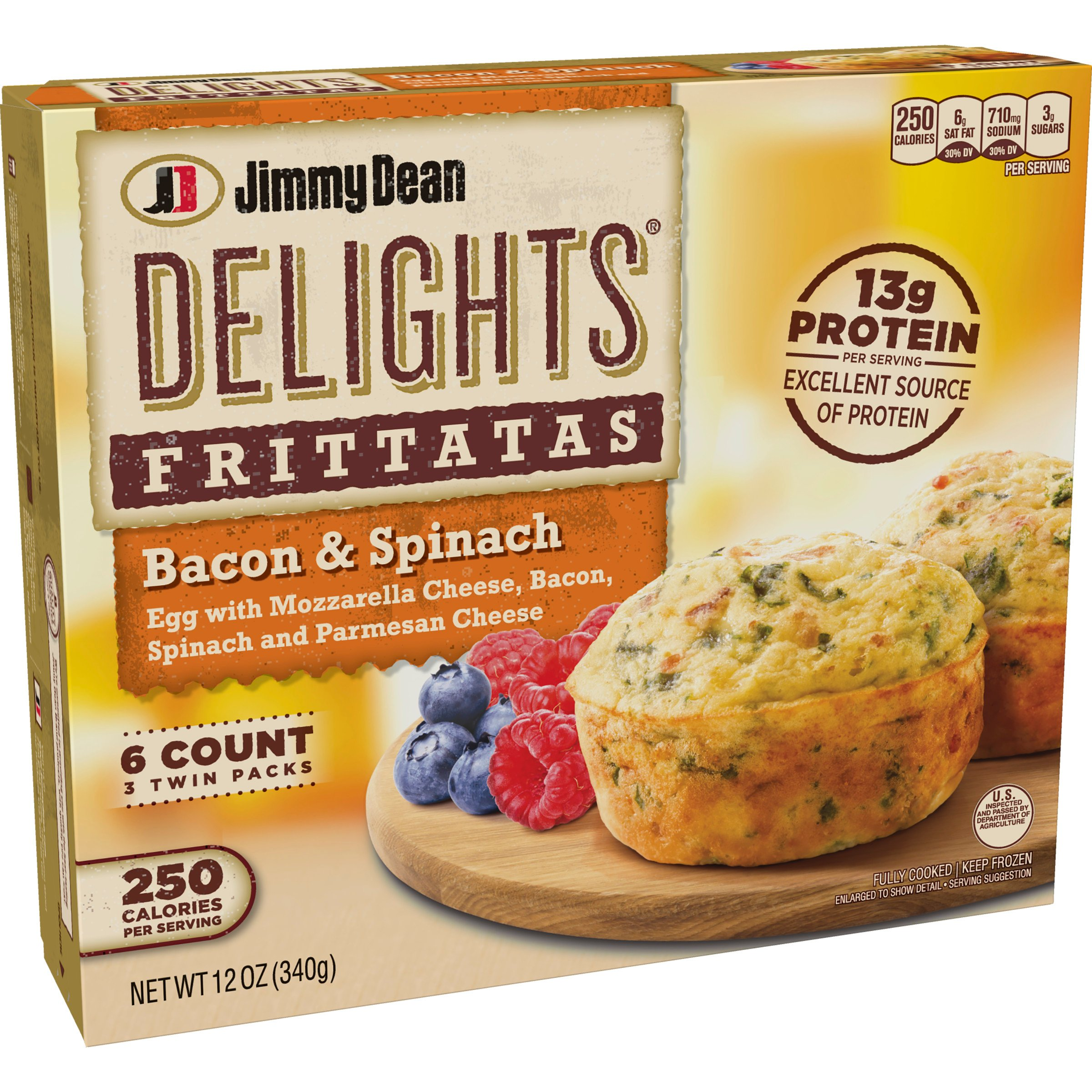 Jimmy Dean Delights Bacon & Spinach