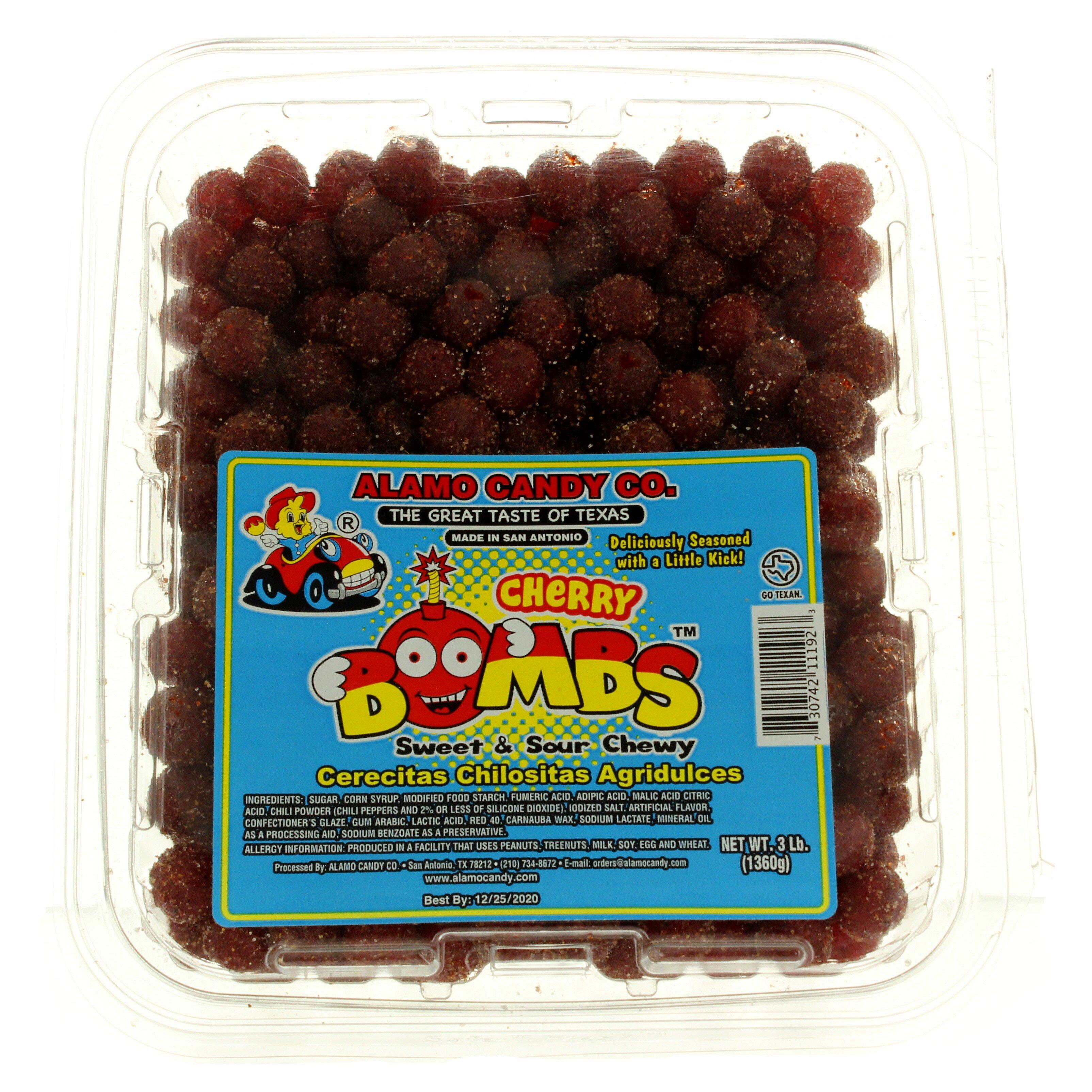 Alamo Candy Cherry Bombs Shop Candy At H E B