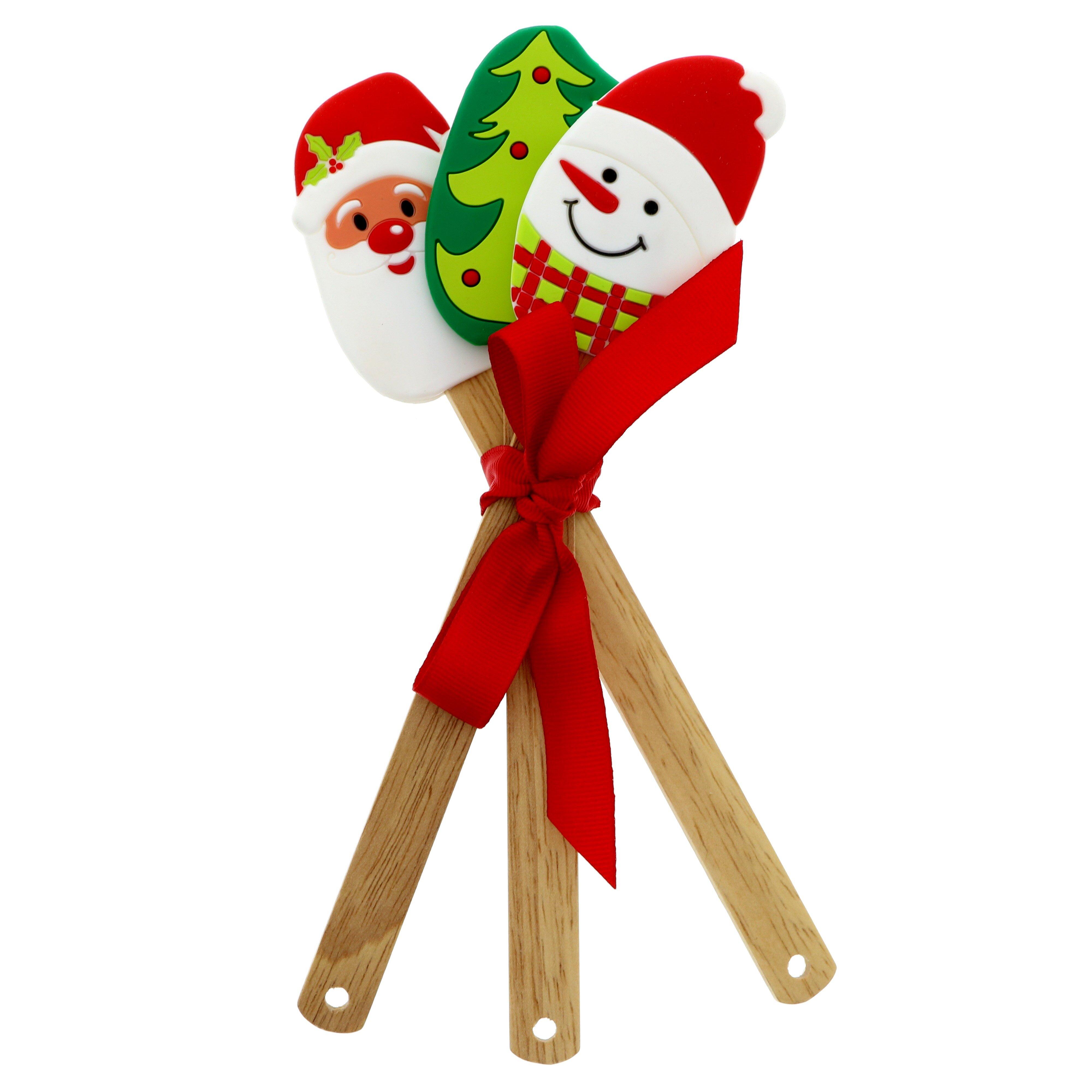 Cocinaware Christmas Spatula Set - Shop Baking and Decorating Tools ...