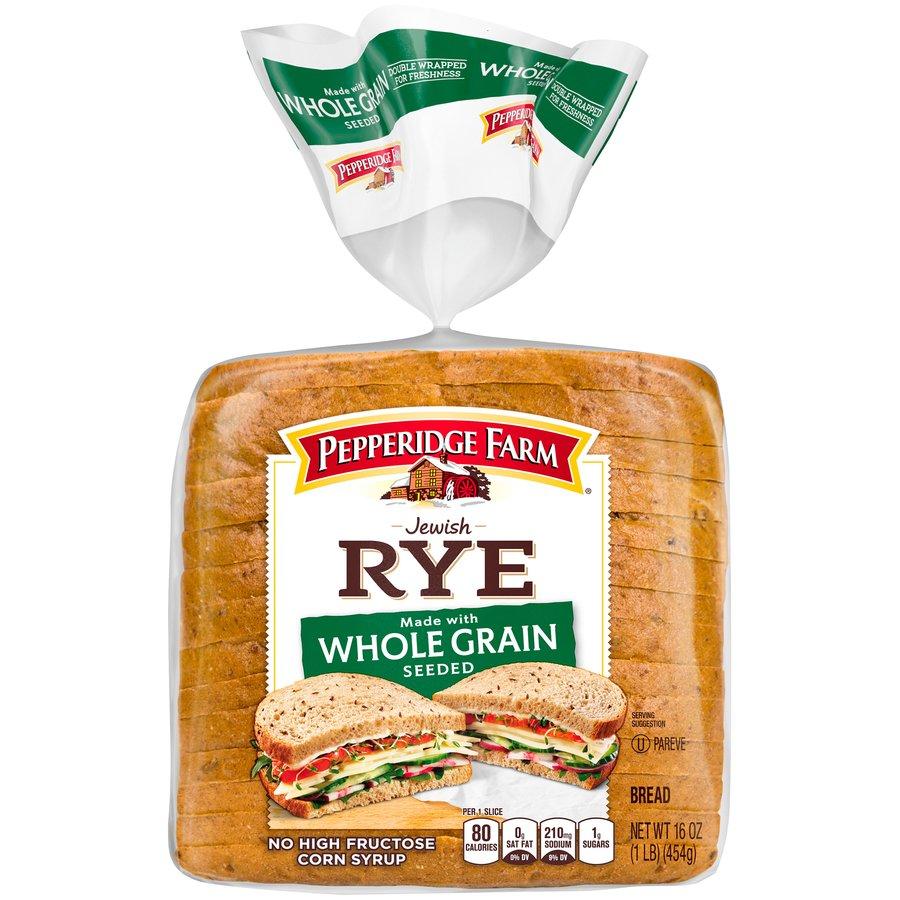 Whole Grain Seeded Jewish Rye Bread