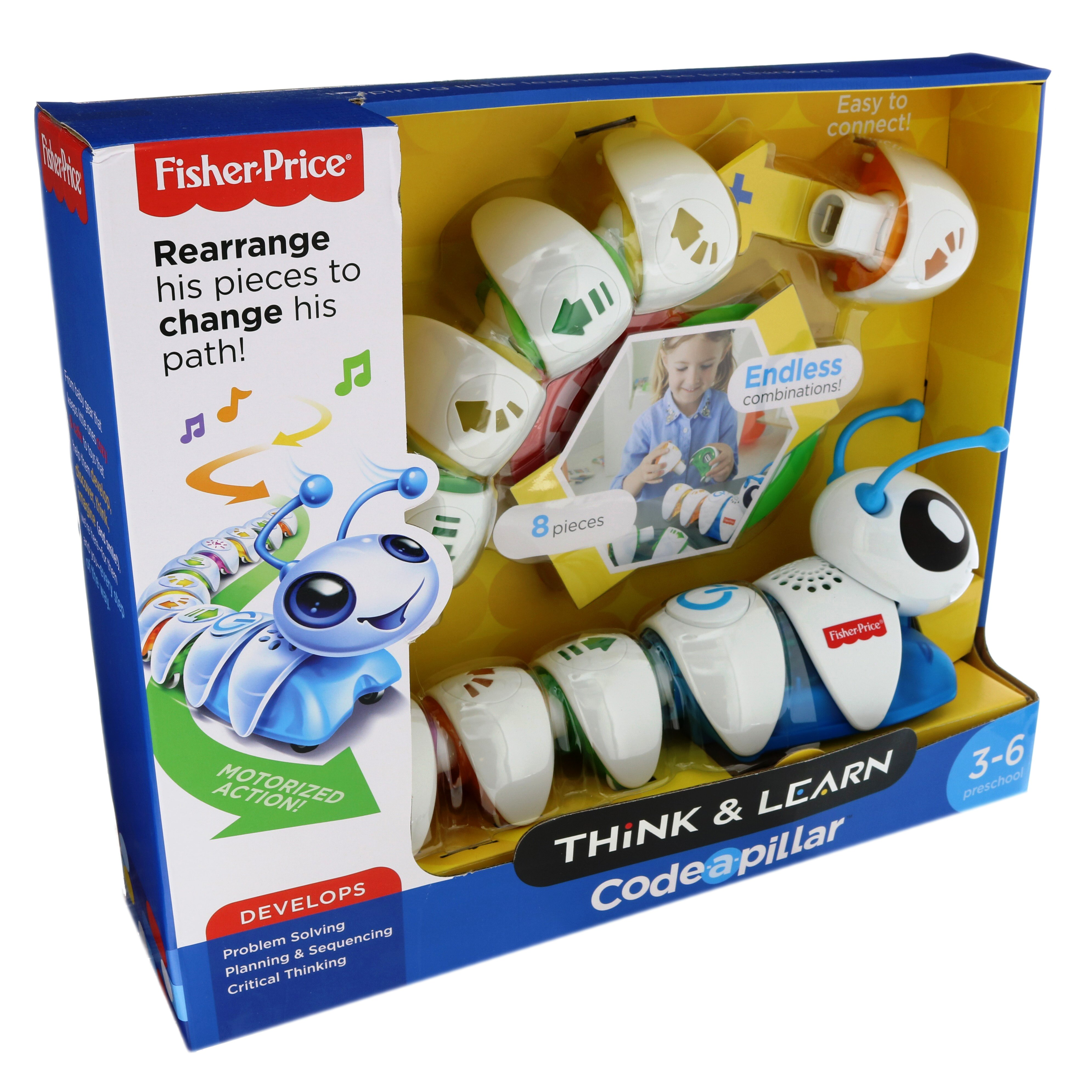 New Fisher Price Fisher-Price Think /& Learn Code-a-pillar Replacement Parts