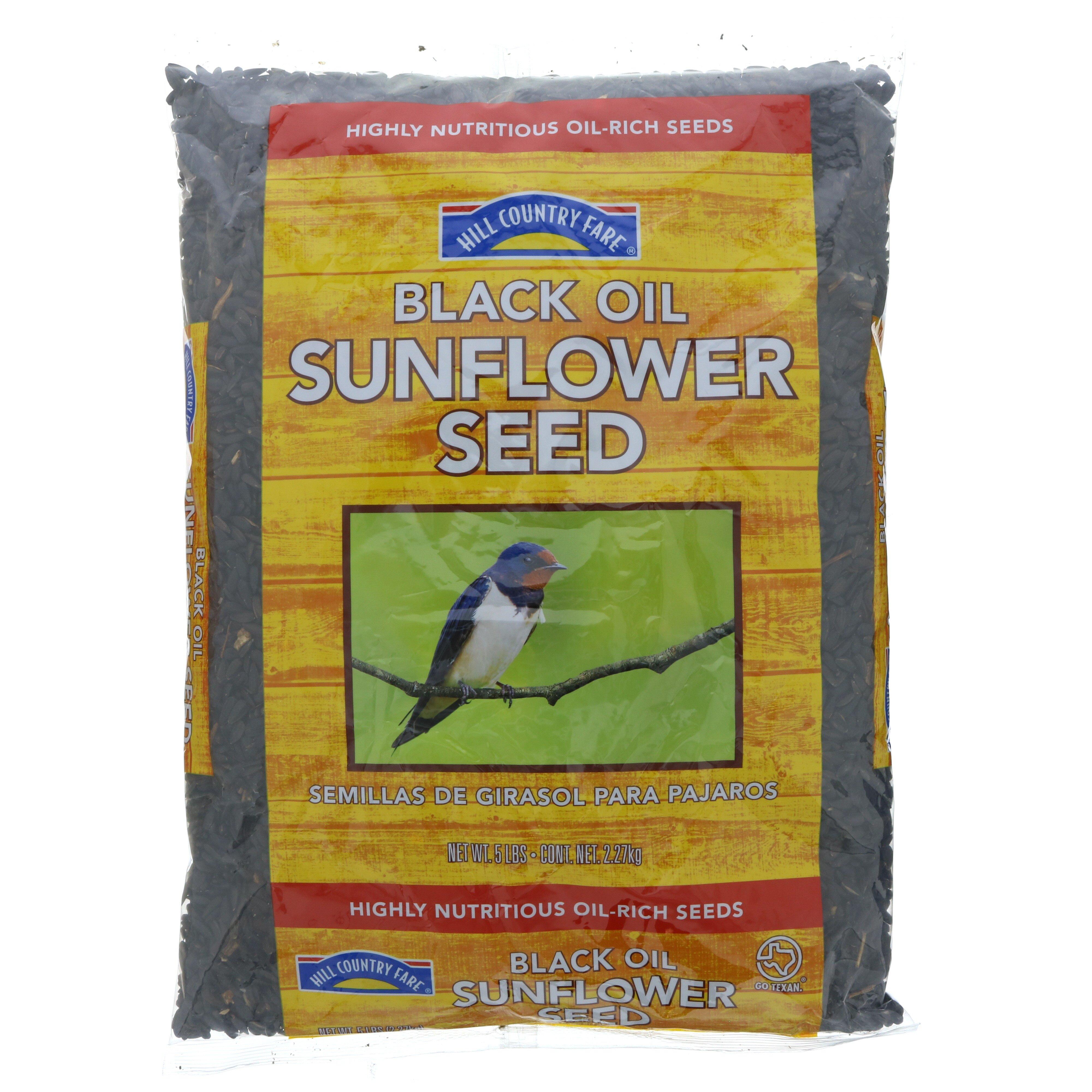 Black Oil Sunflower Seed Bag