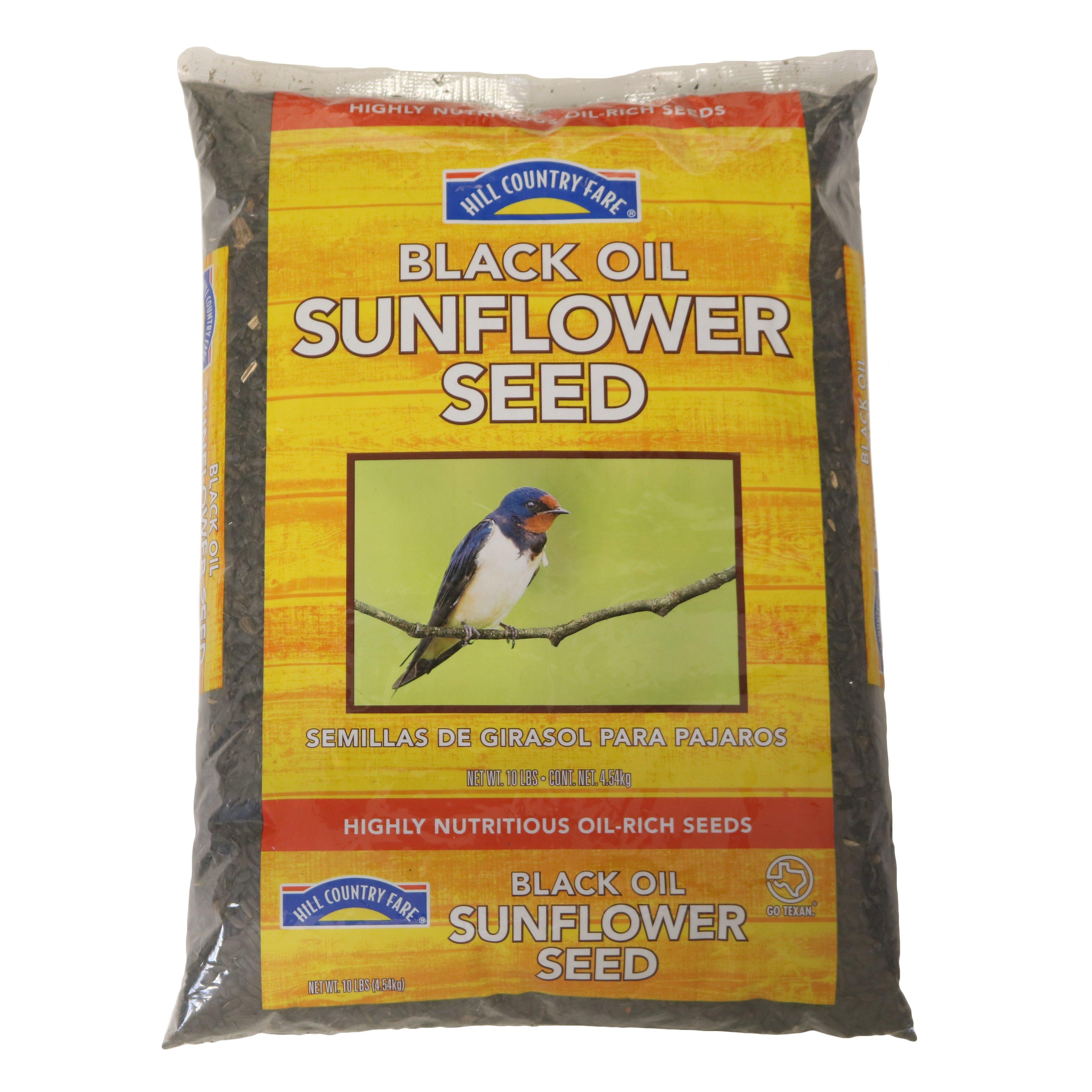 Hill Country Fare Black Oil Sunflower