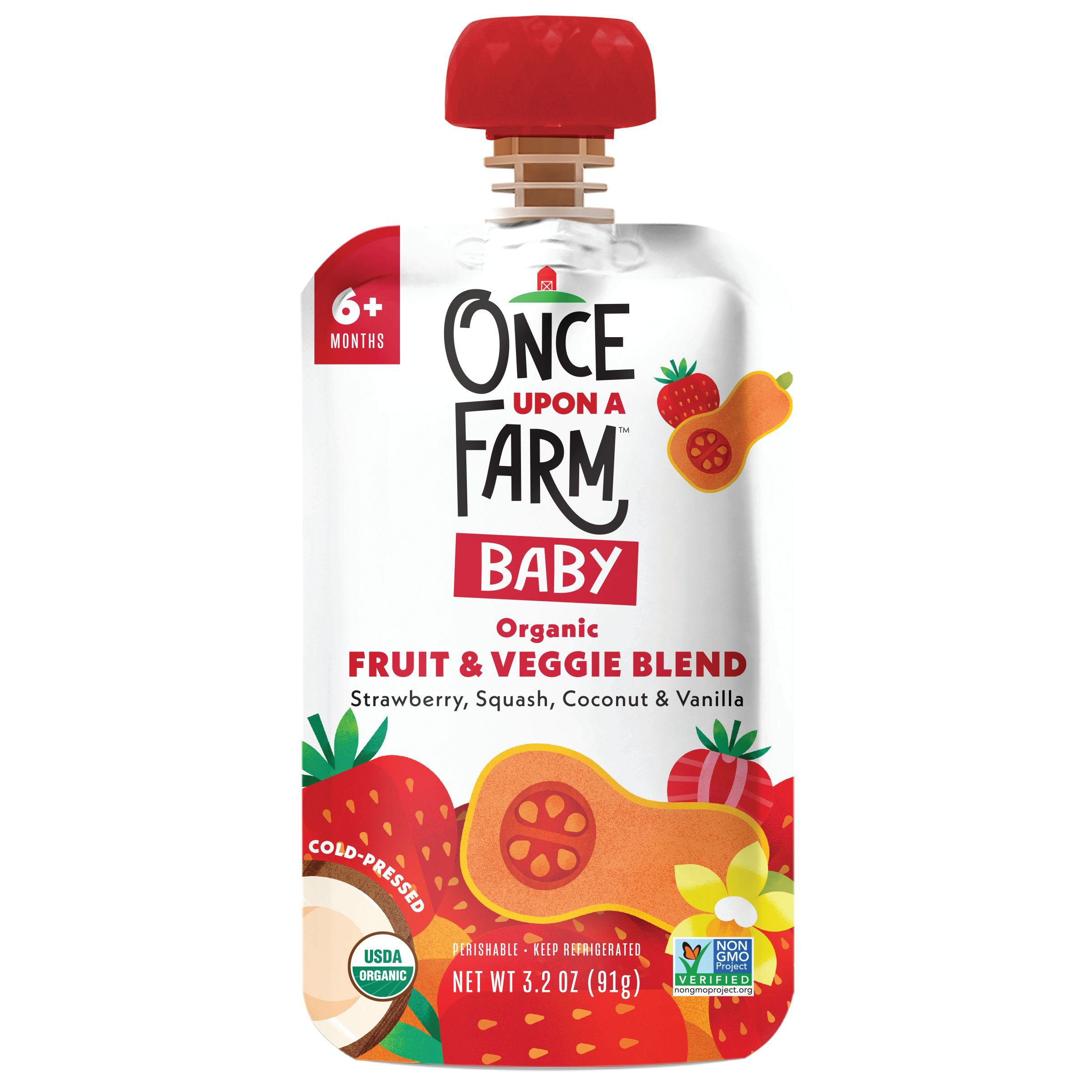 Once Upon A Farm Once Upon A Farm Strawberry Patch - Shop