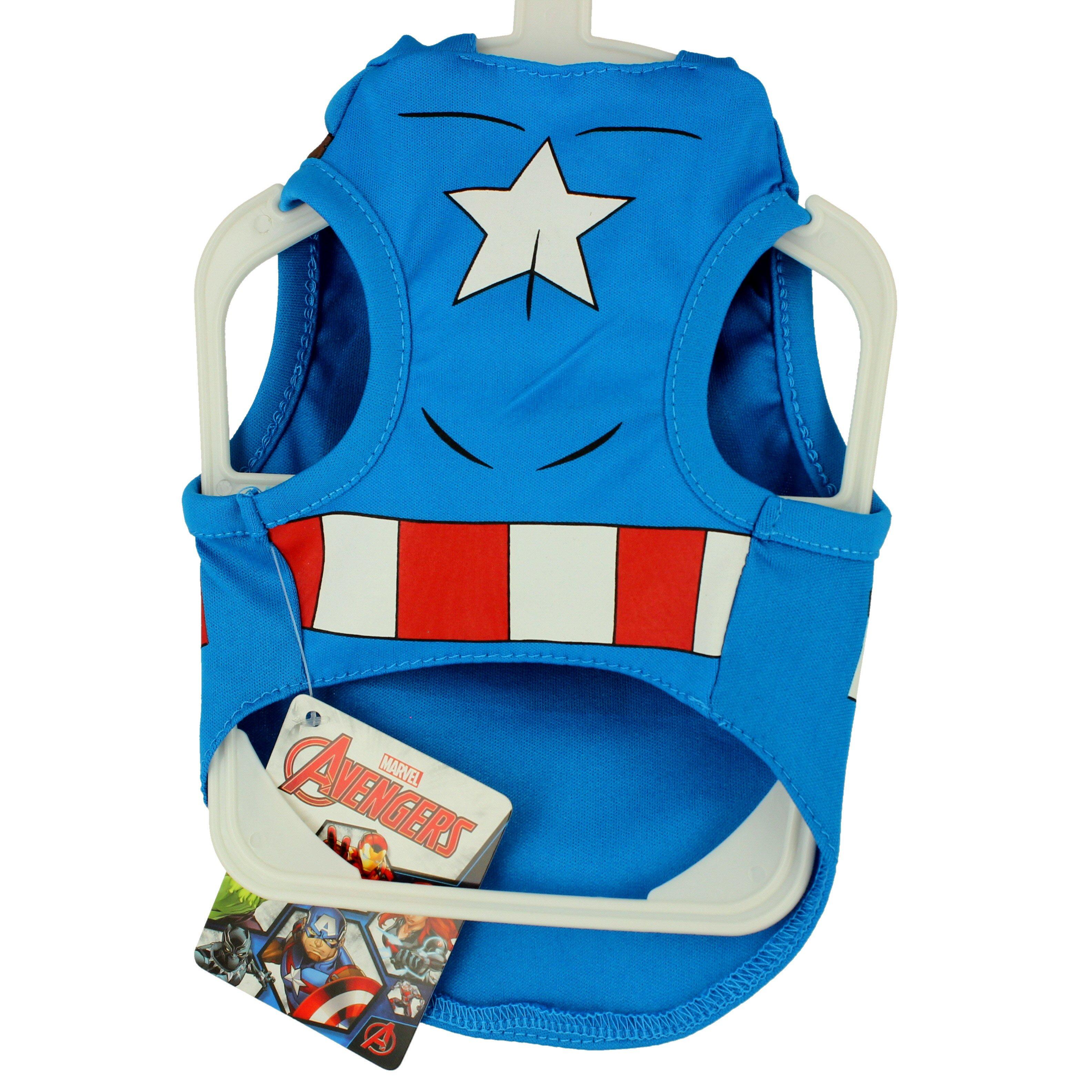Marvel Captain America Dog Costume Shop Dogs At H E B Marvel carol danvers cosplay costume upgrade. heb com