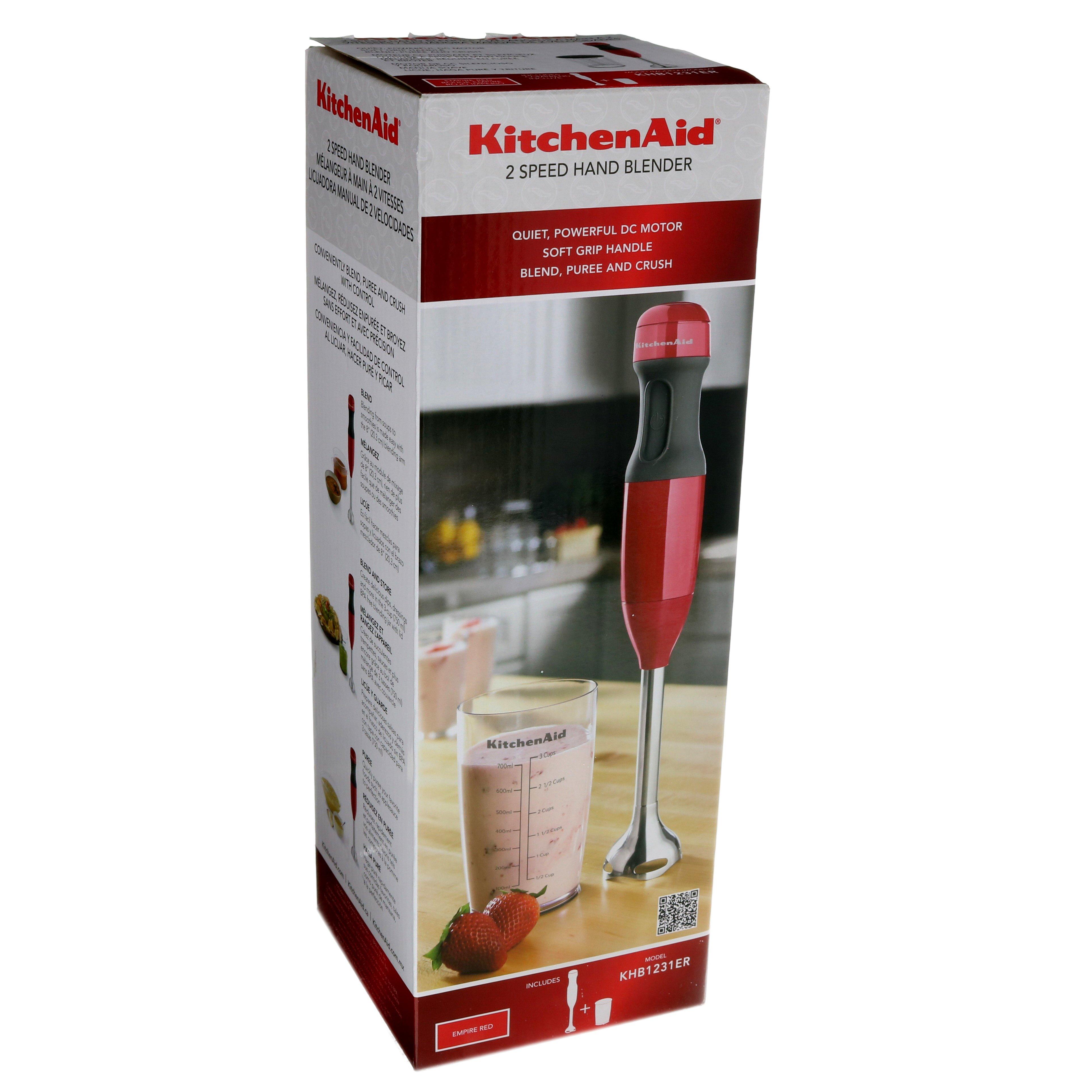 Kitchenaid 2 Speed Hand Blender Red Shop Appliances At H E B