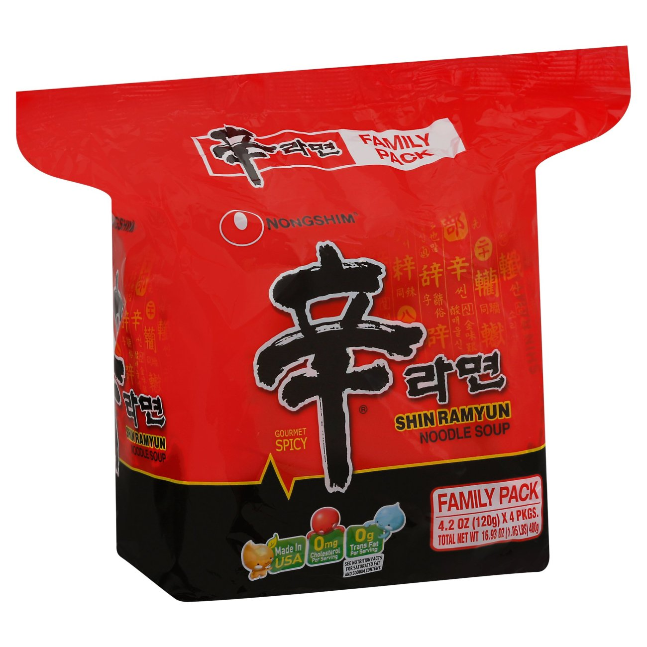 Nongshim Shin Ramyun Noodle Soup Family
