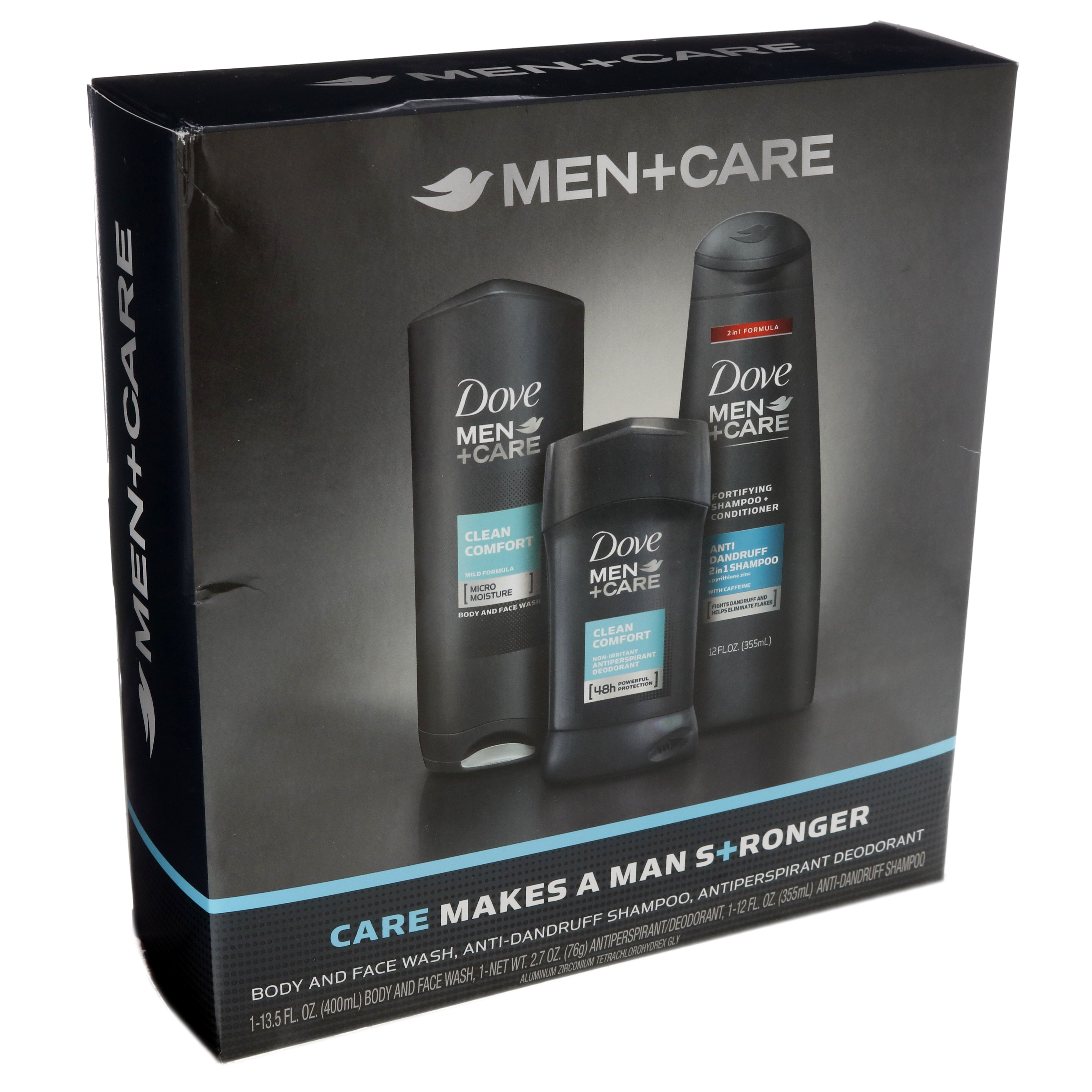 Dove Men Care Clean Comfort Men S 3 Piece Gift Set Shop Bath Skin Care Sets At H E B