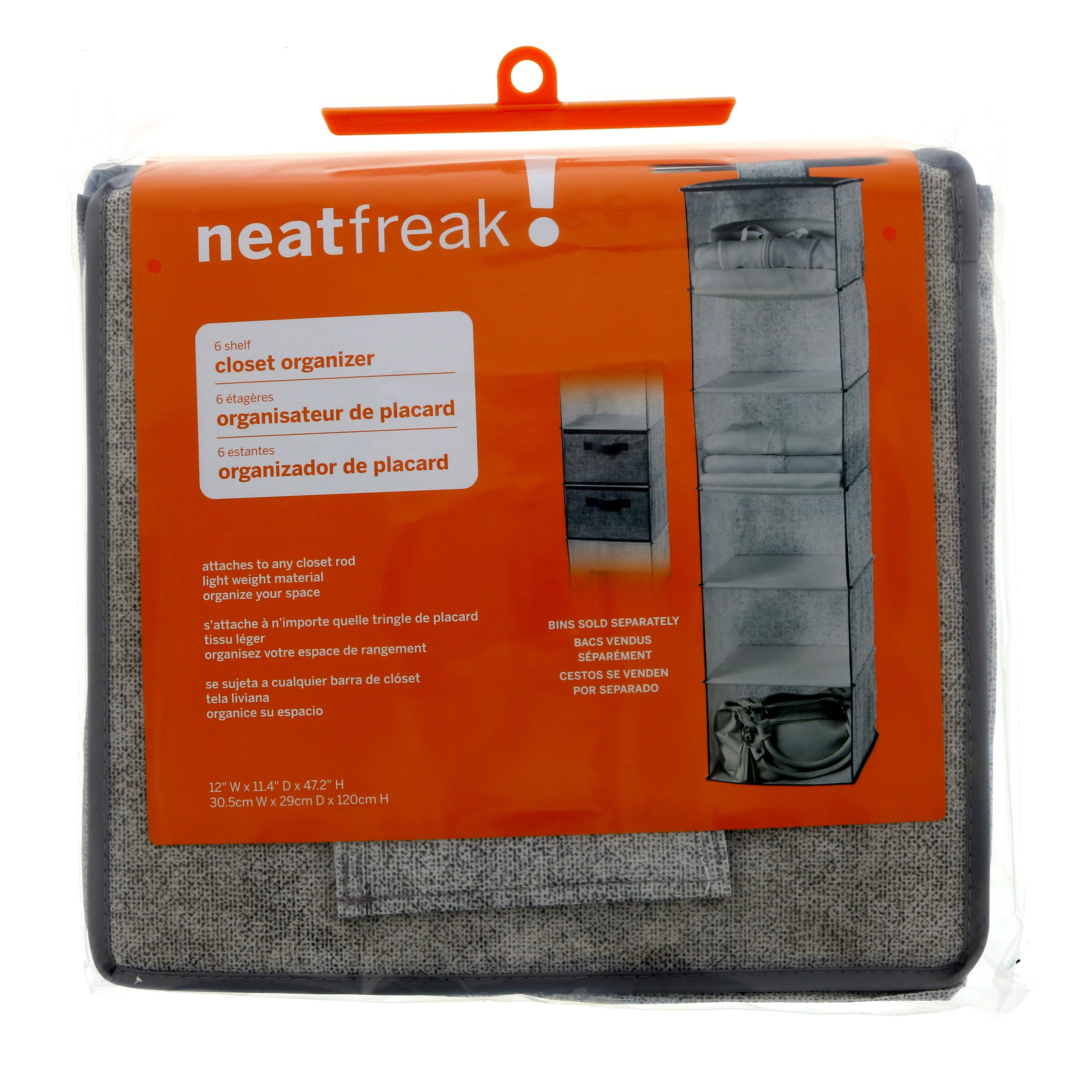 Neatfreak! 6 Shelf Closet Organizer, Harmony Twill   Shop Closet  Organization At HEB