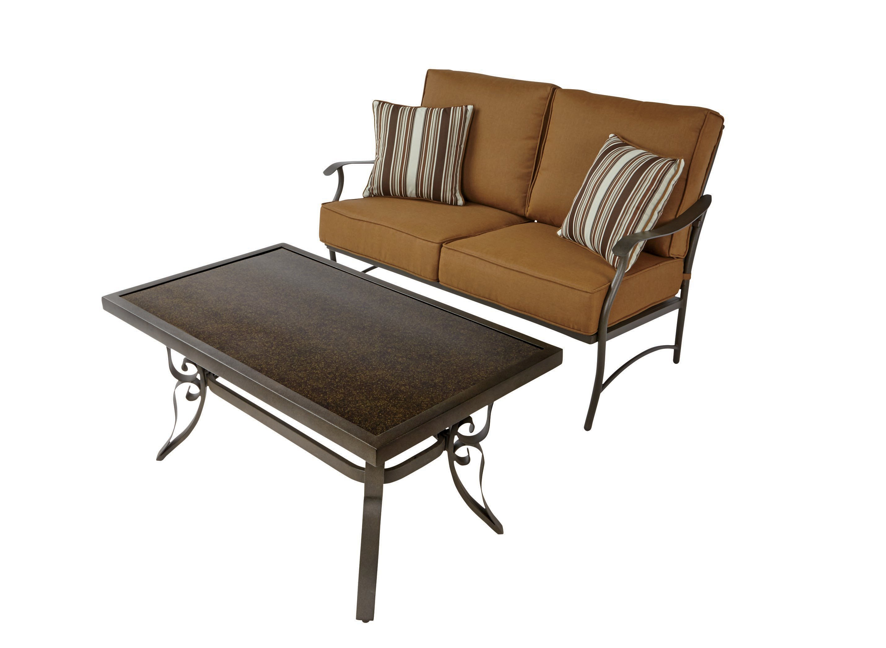 Pacific Casual Copper Canyon Chat Set Shop Furniture at HEB