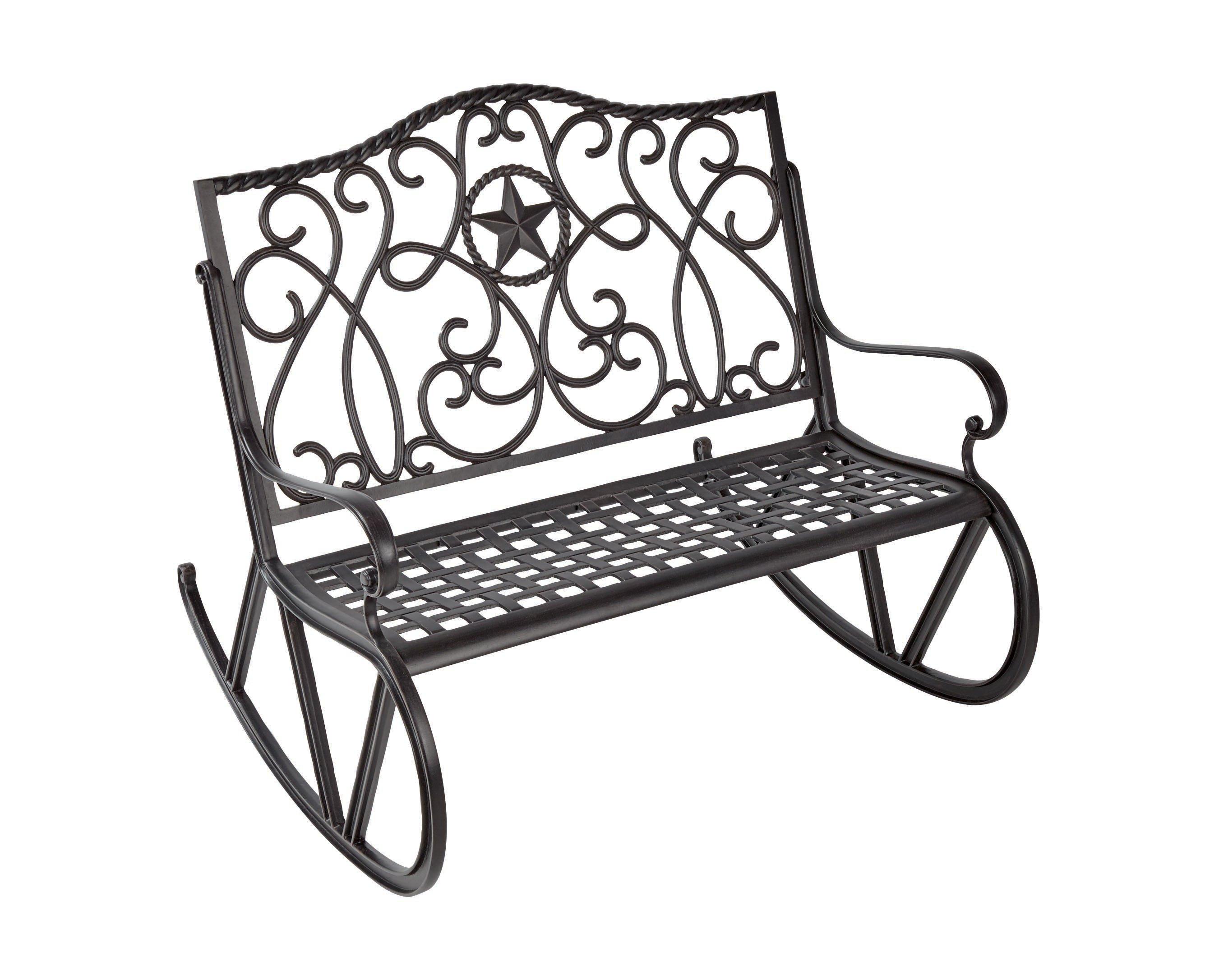 H‑E‑B Texas Backyard Riata III Rocking Bench ‑ Shop Furniture at HEB