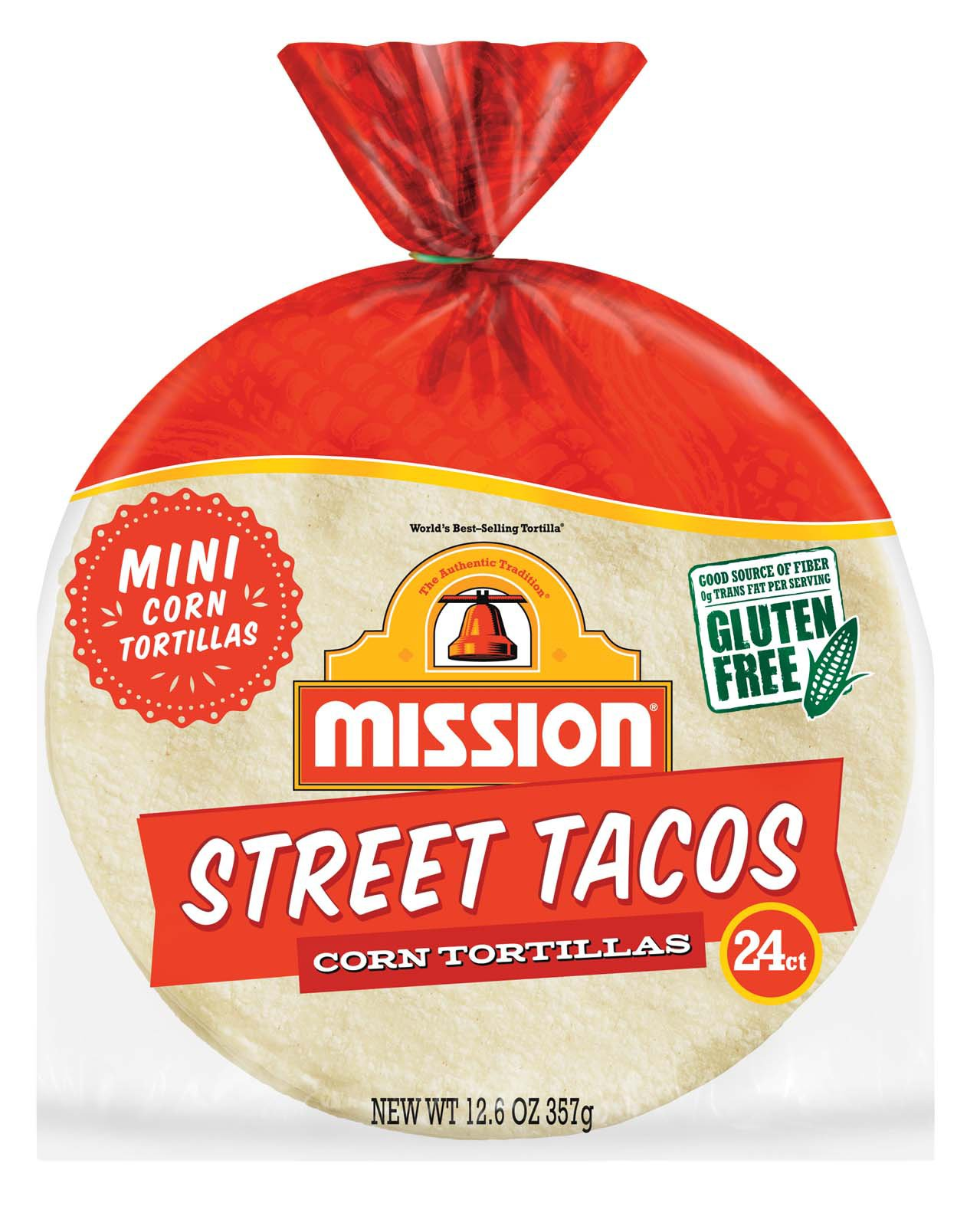 Mission Street Tacos Mini Corn Tortillas Shop Tortillas At H E B