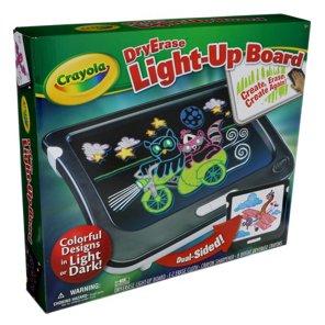 crayola dry erase light up board shop craft supplies at heb