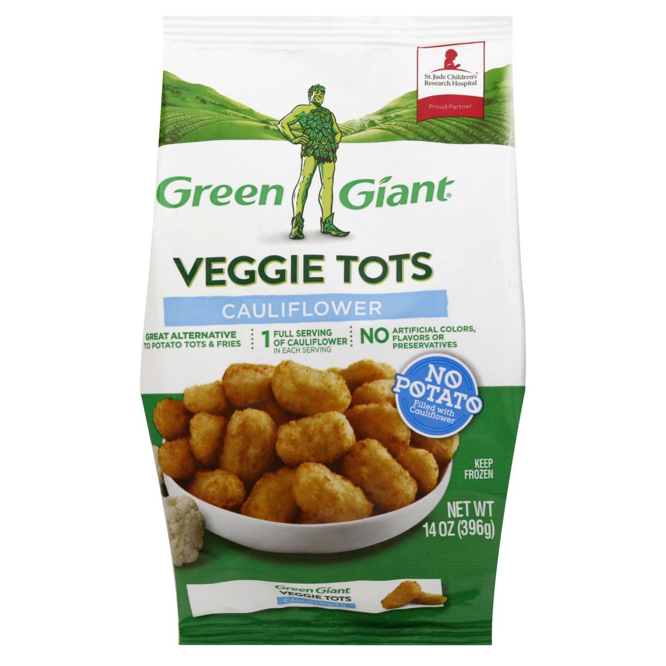 Green Giant Veggie Tots Cauliflower Shop Broccoli Cauliflower Cabbage At H E B