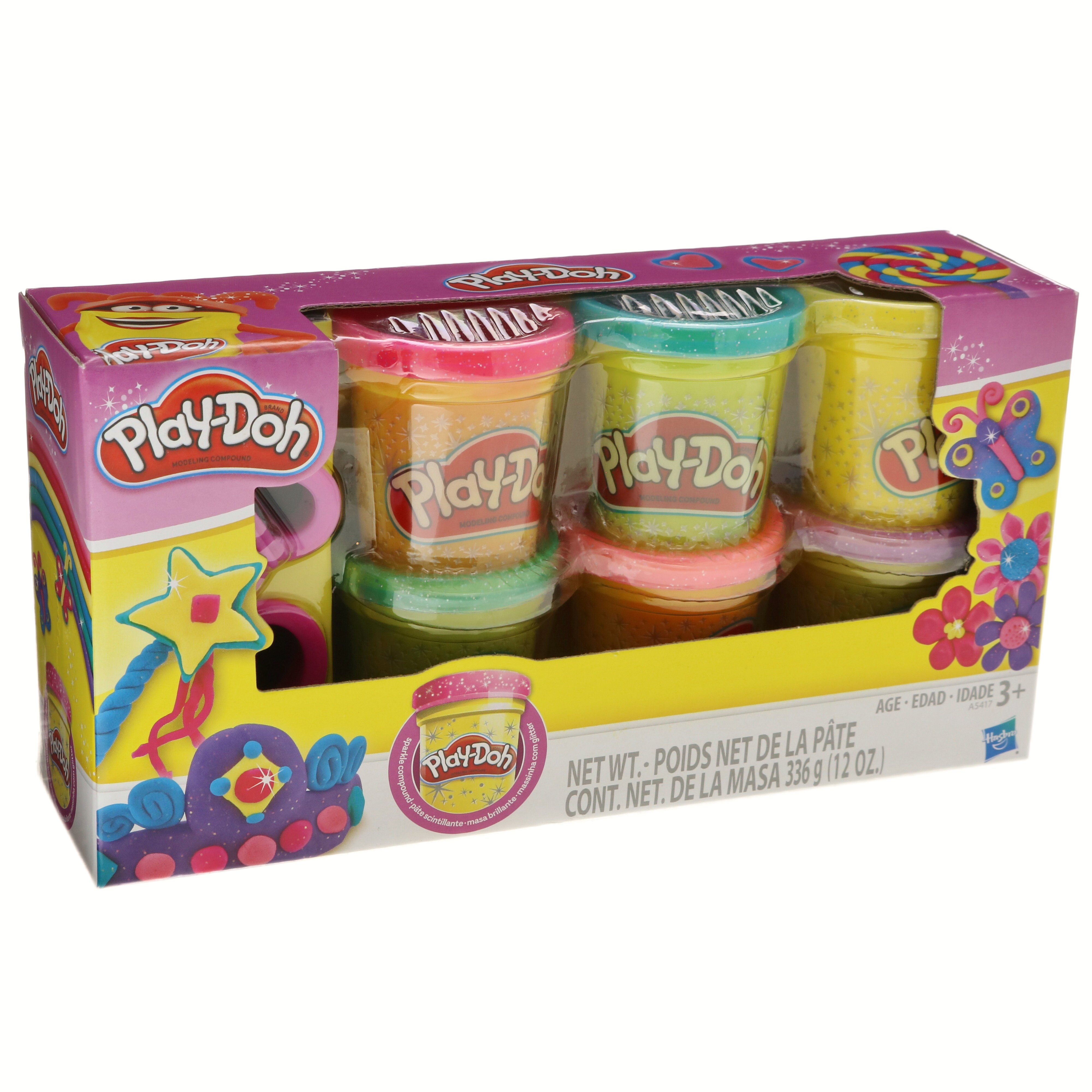 Play Doh Sparkle Compound Collection Shop Clay At H E B
