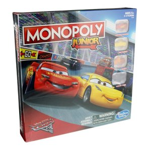 hasbro monopoly junior disney pixar cars 3 edition shop games at h e b