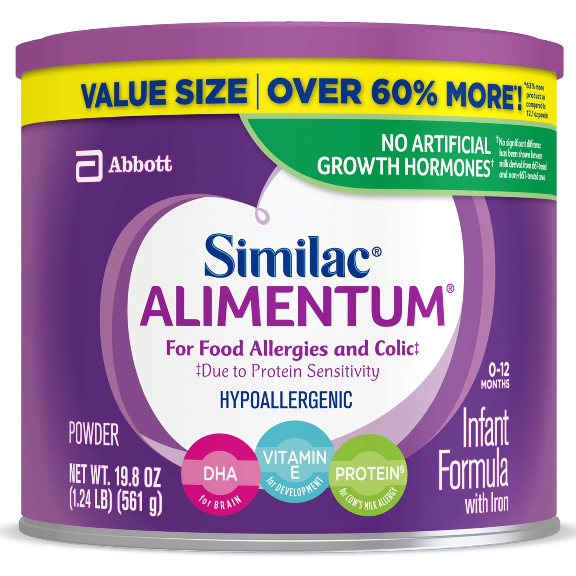 Alimentum Ready To Feed 2 Oz similac alimentum hypoallergenic infant formula powder with iron