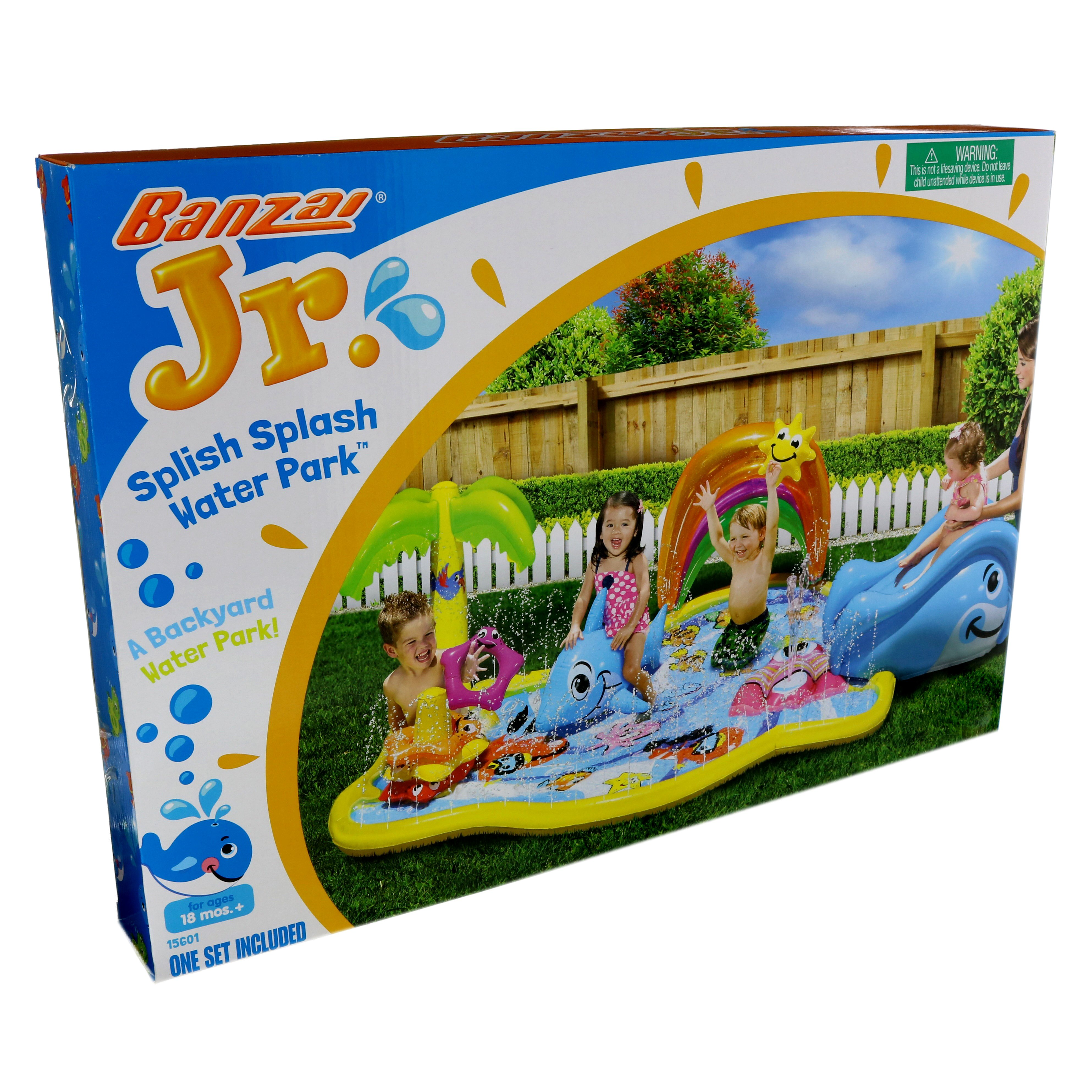 banzai splish splash water park shop yard toys at heb