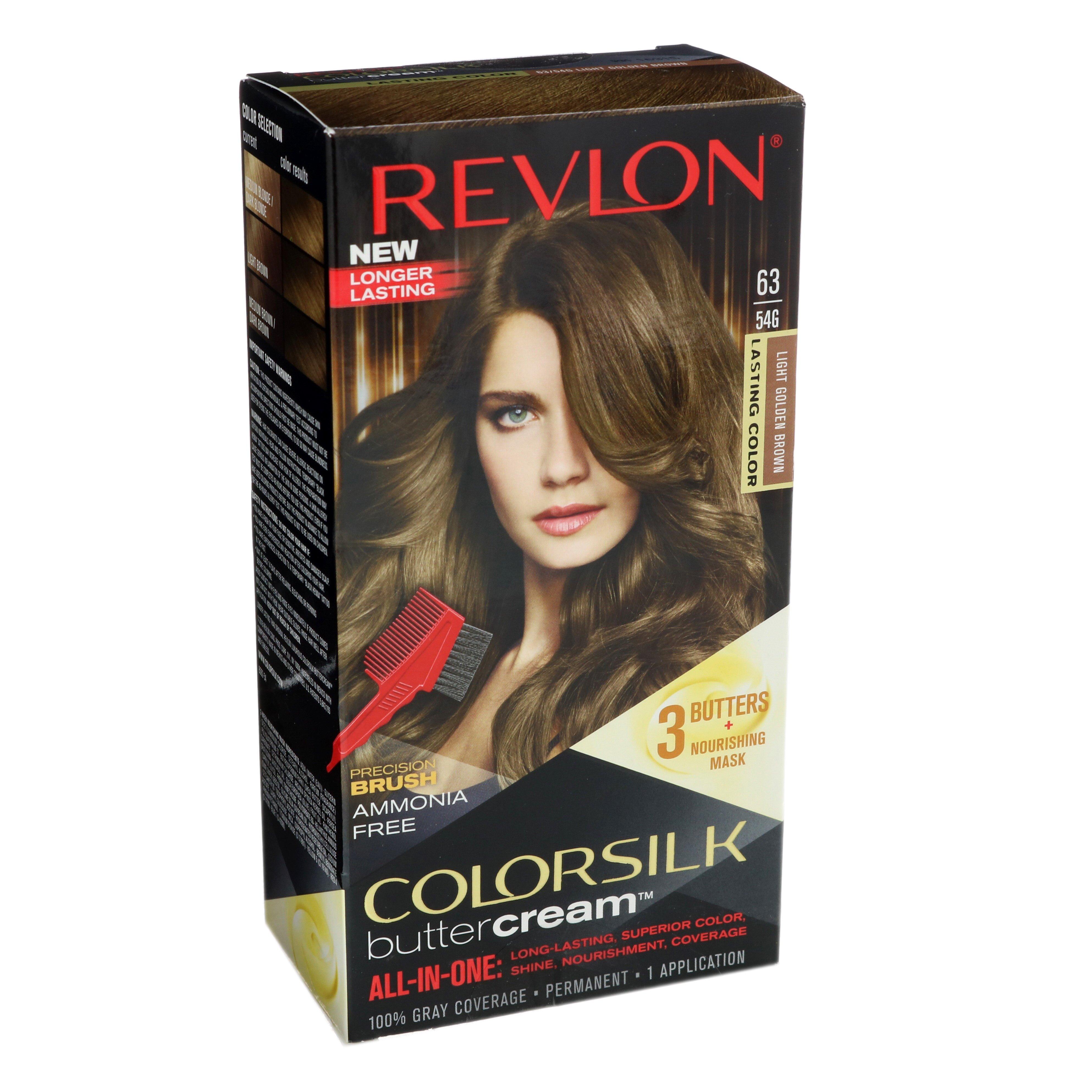 Revlon Colorsilk Buttercream Light Golden Brown 63 Shop Hair Color