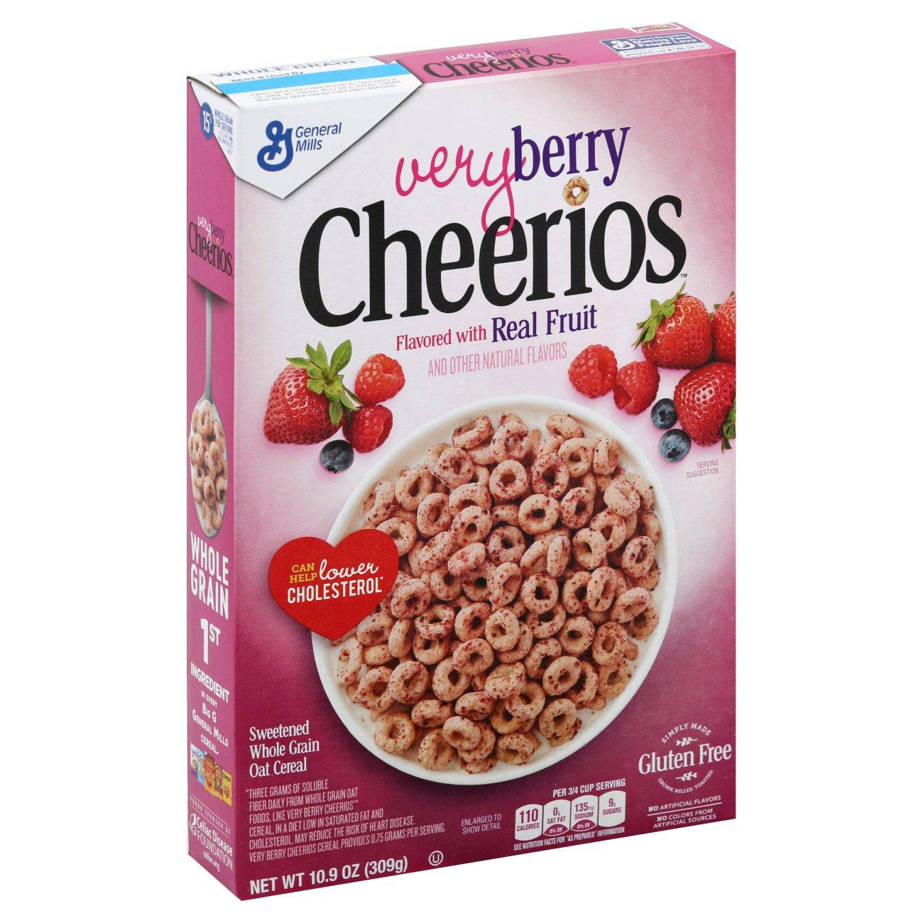 General Mills Cheerios Very Berry