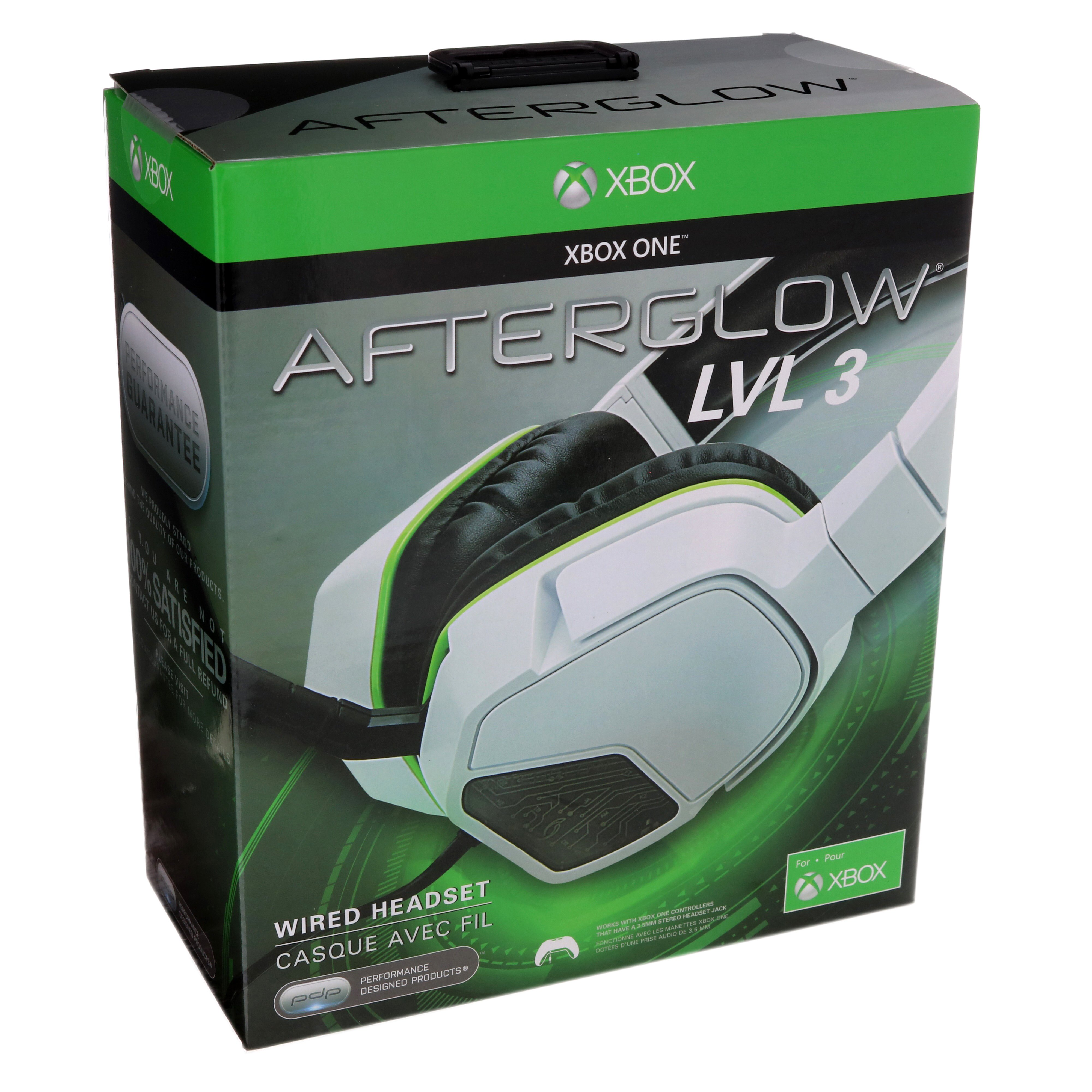 PDP Afterglow LVL 3 White Stereo Headset for Xbox One - Shop Xbox at HEB