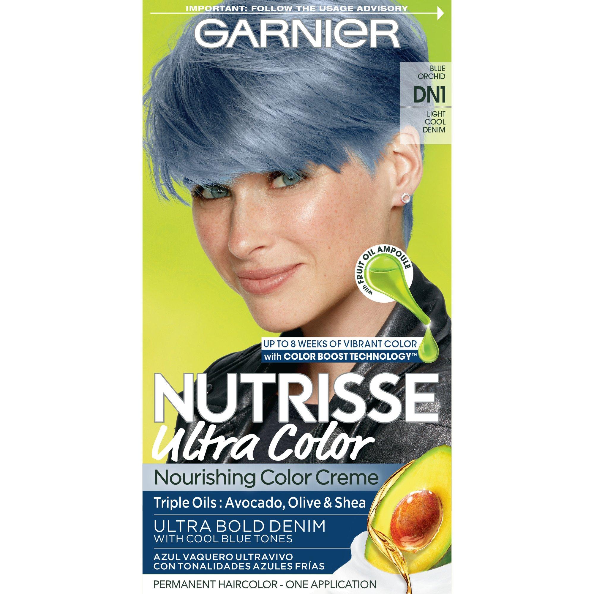 Garnier Nutrisse Nourishing Color Creme Dn1 Light Cool Denim Shop