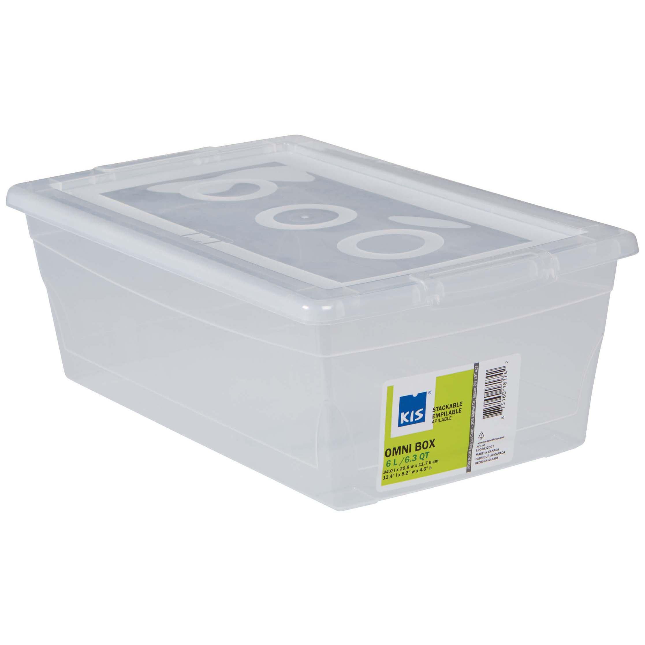 sc 1 st  HEB.com & Kis Omni Box Clear Shoe Box with Lid - Shop Closet Organization at HEB