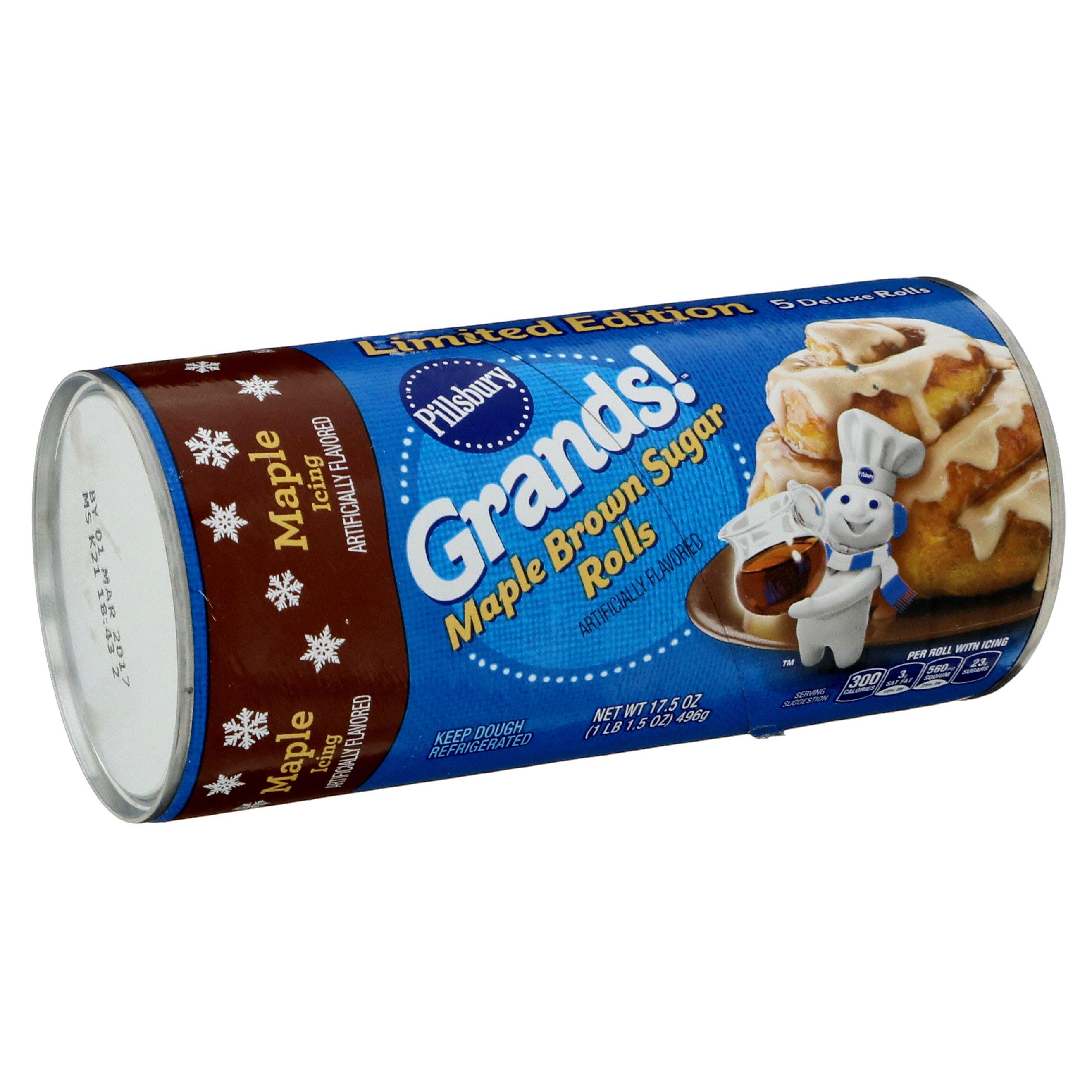 Pillsbury Grands! Maple Brown Sugar Rolls - Shop Biscuit & Cookie Dough at H-E-B