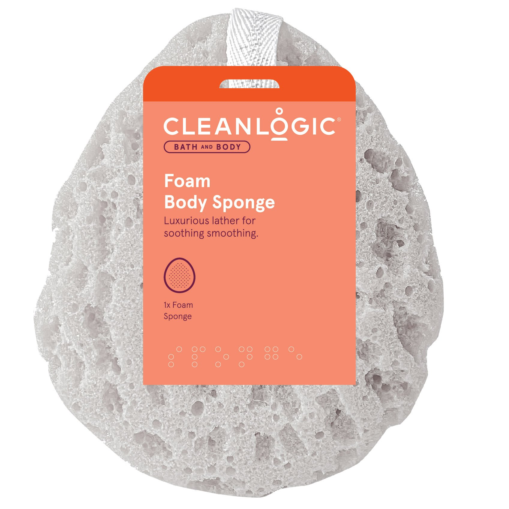 Cleanlogic Foam Sea Sponge ‑ Shop Accessories at H‑E‑B