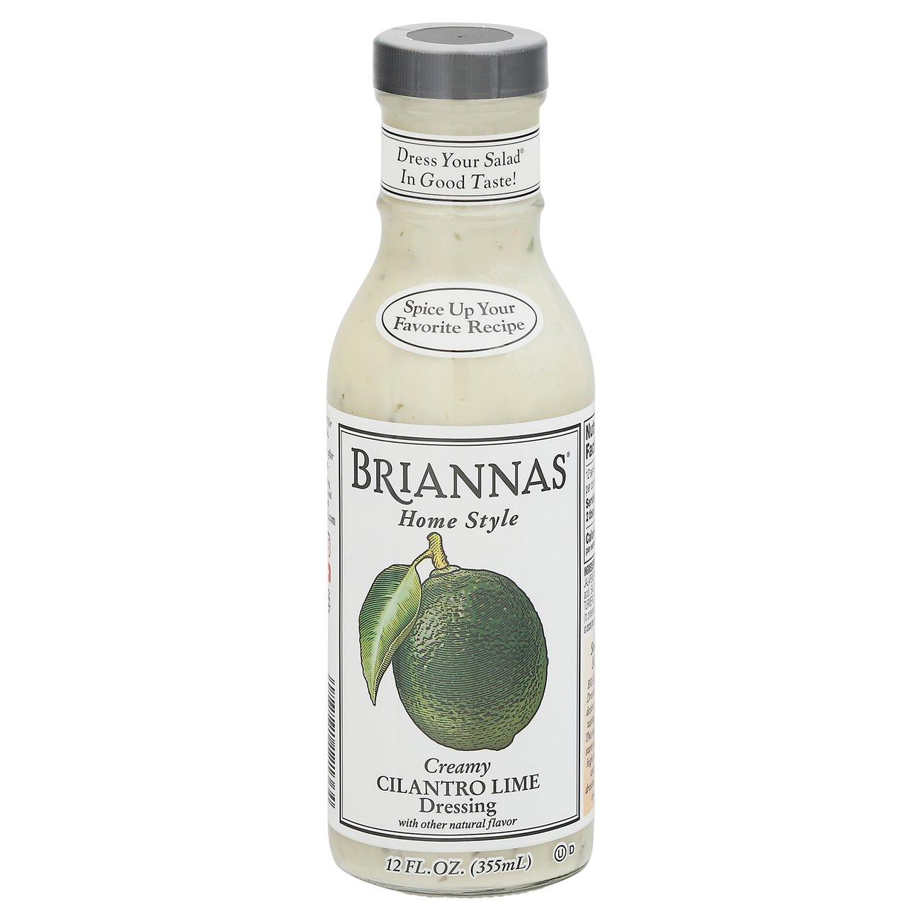 brianna u0027s home style creamy cilantro lime dressing shop salad