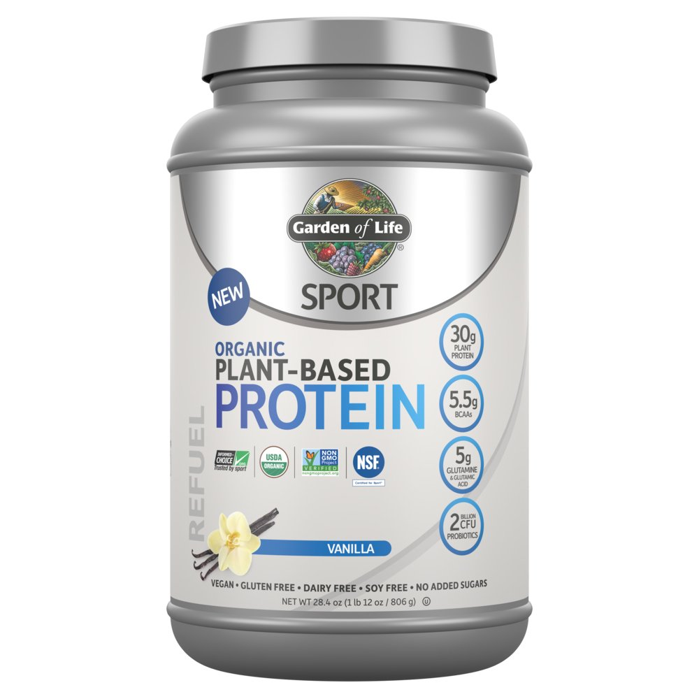 Garden Of Life Sport Organic Plant Based Vanilla Protein Powder Shop Diet Fitness At H E B