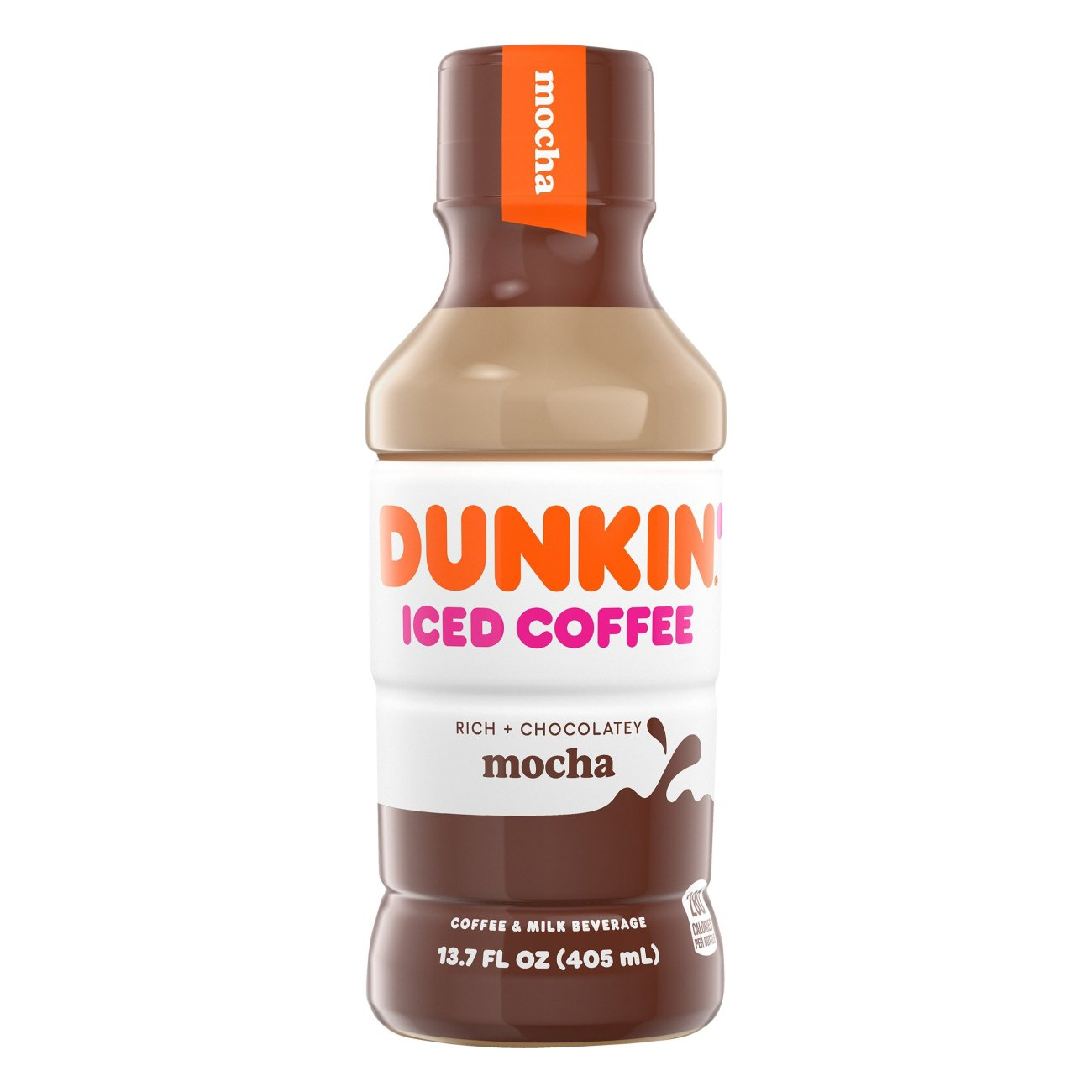 Dunkin' Donuts Mocha Iced Coffee - Shop Coffee at H-E-B