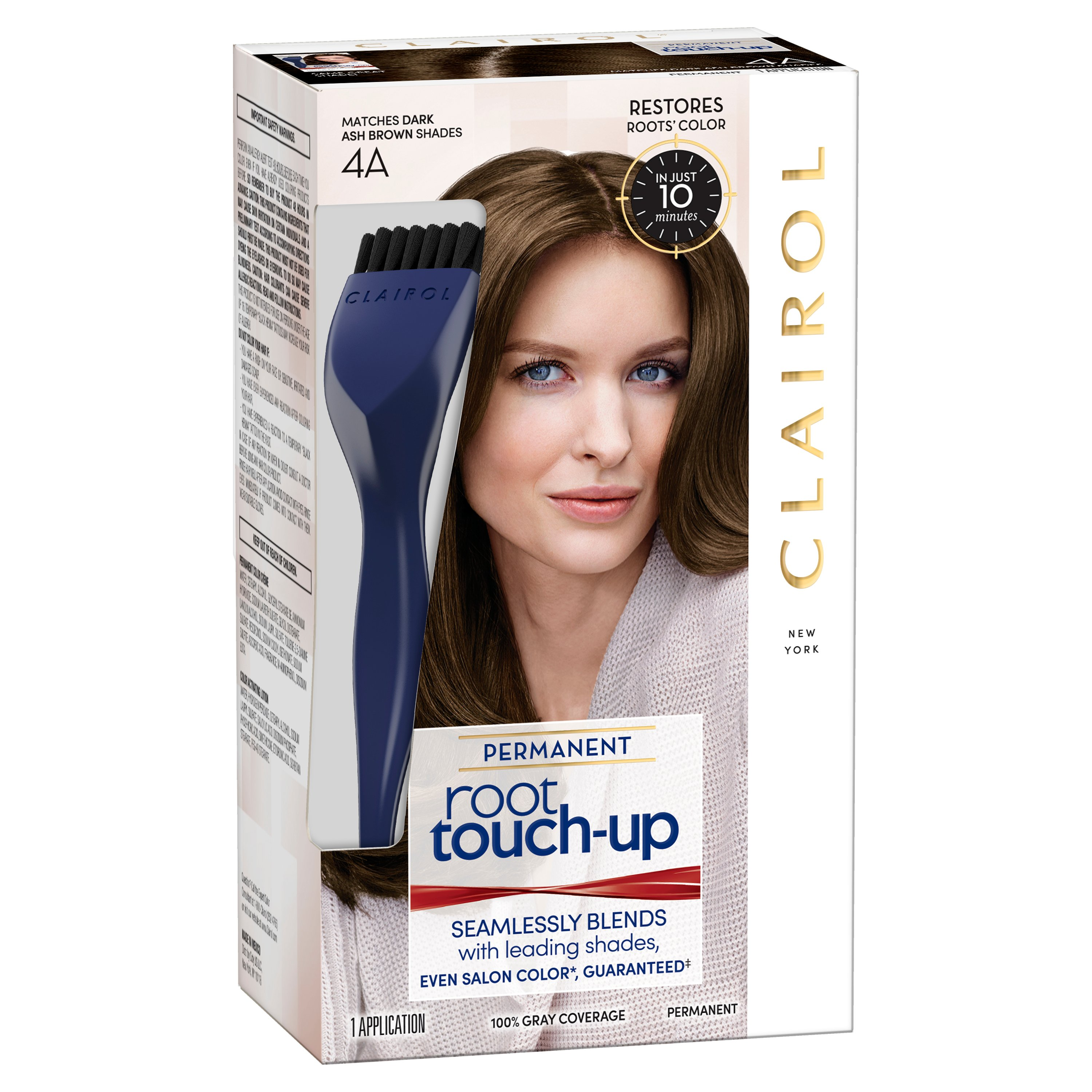 Clairol Nice N Easy Root Touch Up 4a Dark Ash Brown Shop Hair