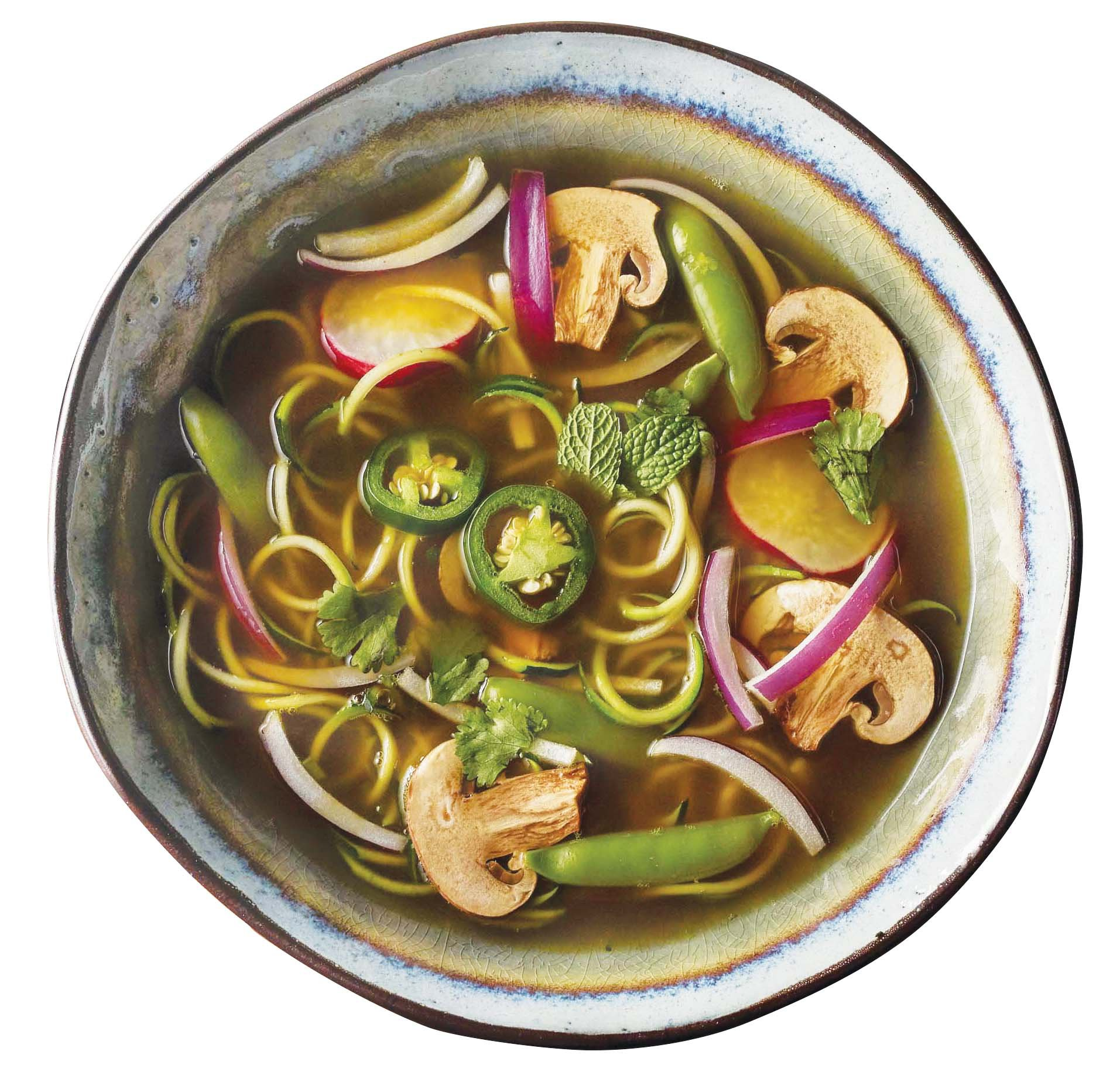 H-E-B Meal Simple Zucchini Spiral Pho Soup Kit - Shop Meal Kits at ...