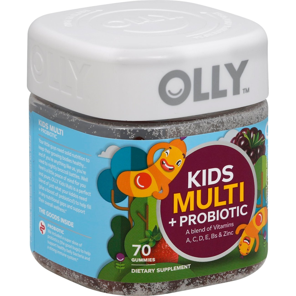 Olly Kids Multi Probtc Vitamin Yum Berry Punch Shop