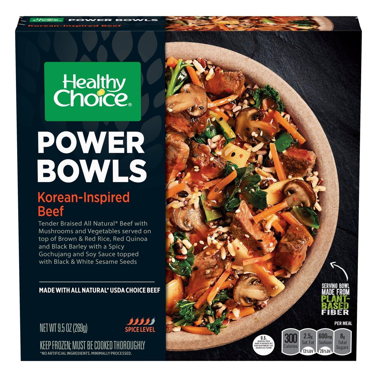 Healthy Choice Power Bowls Korean Beef Bowl Shop Entrees Sides At H E B