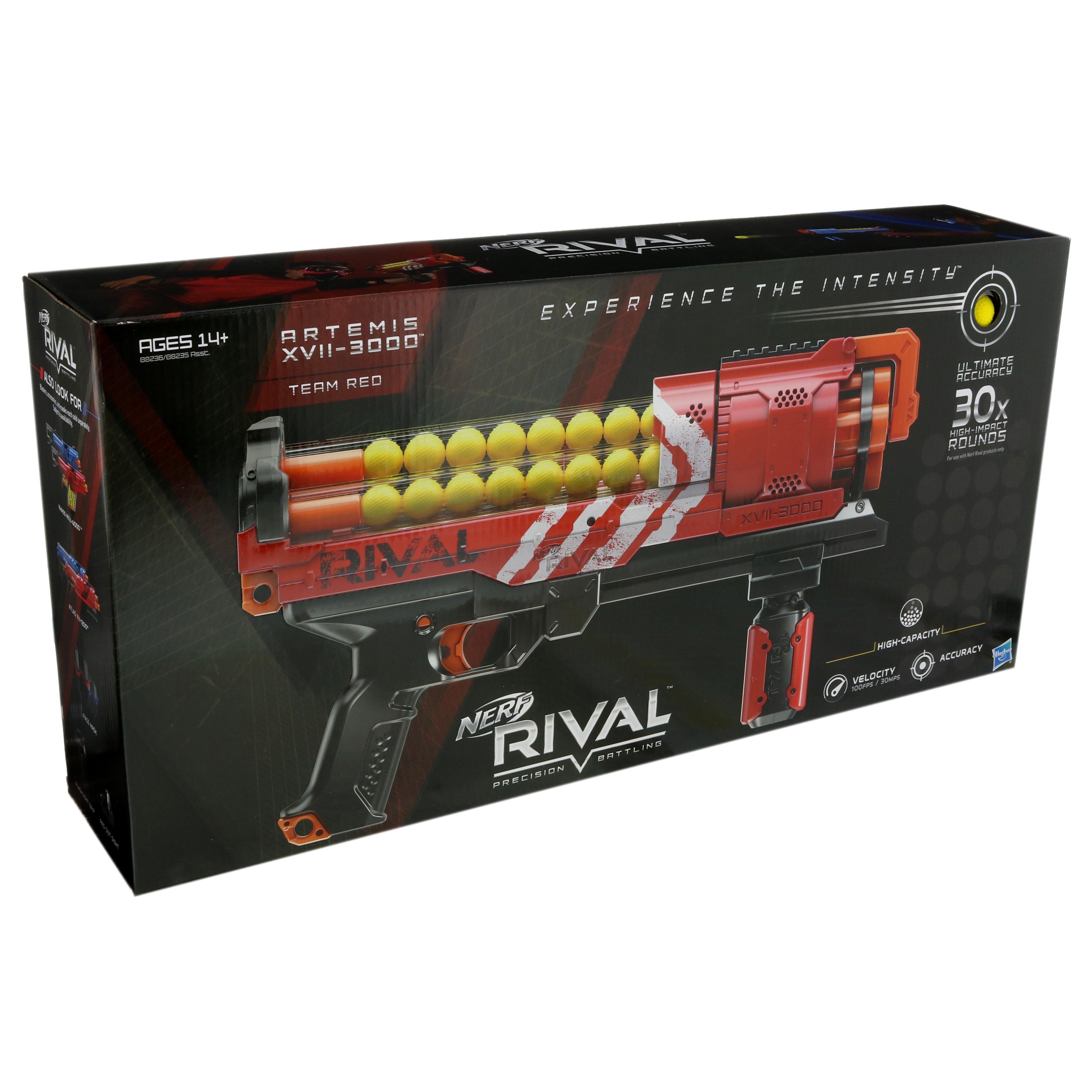 Nerf Rival Artemis Xvii3000 Red