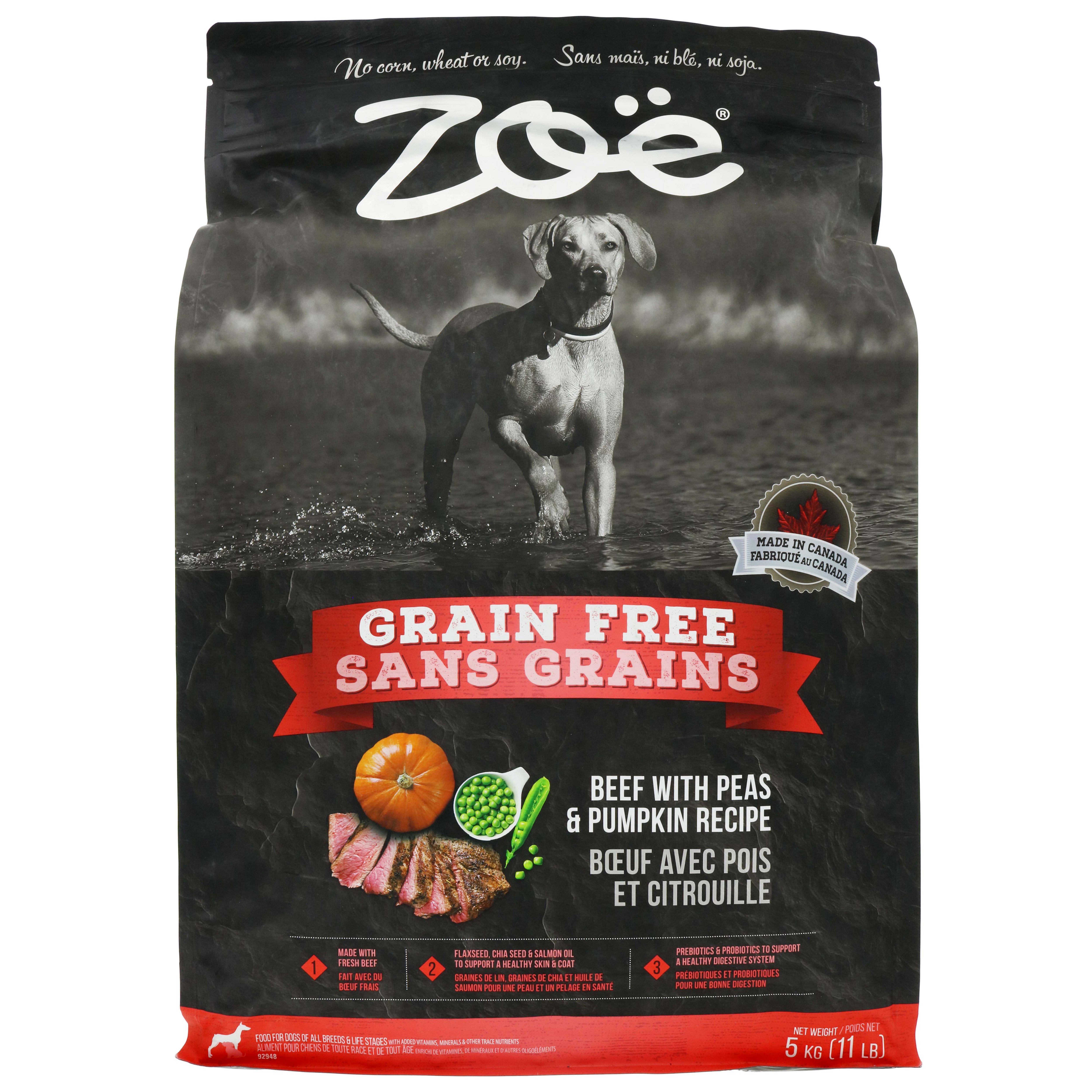 Zoe grain free beef with peas and pumpkin shop dry at heb forumfinder Image collections