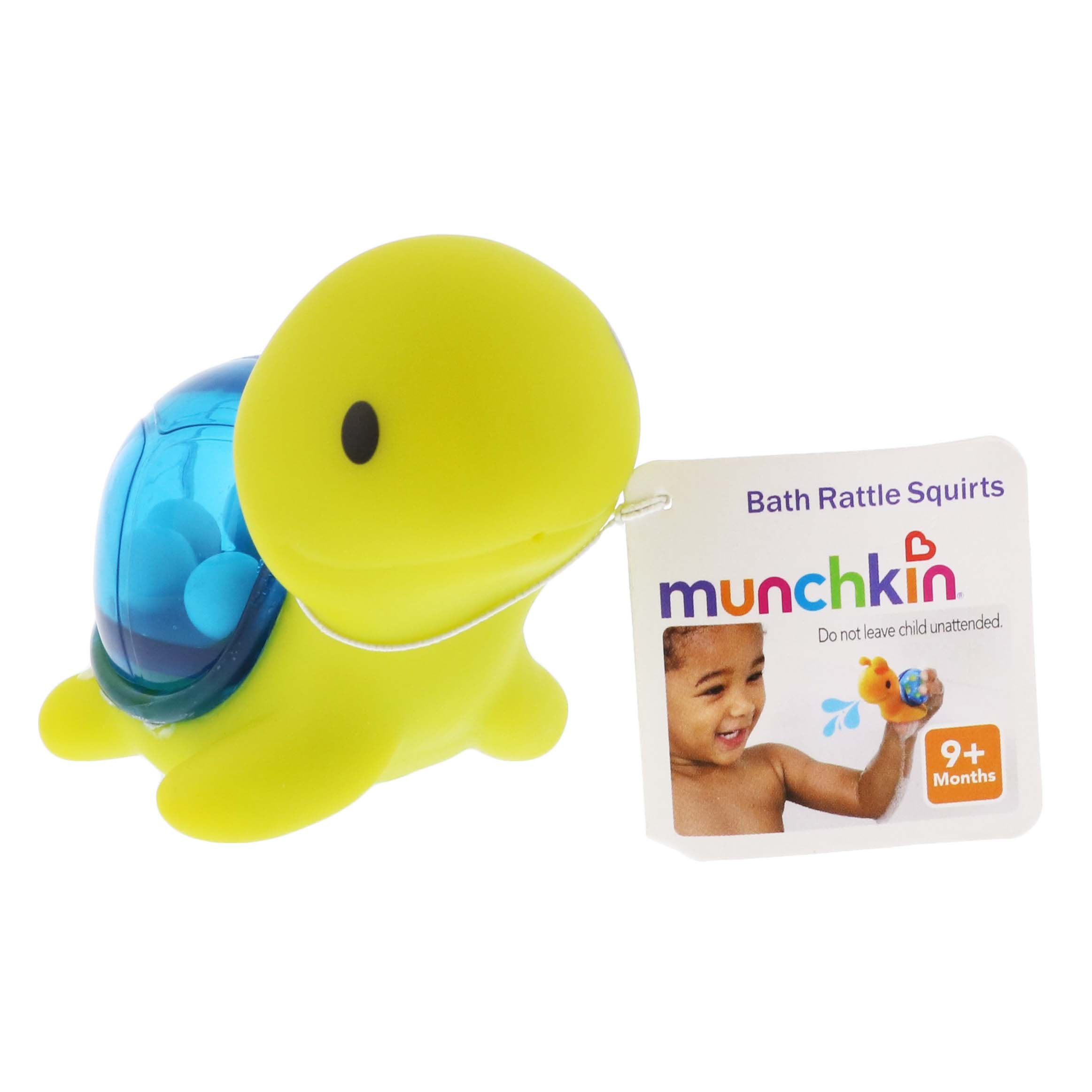 Munchkin Bath Rattle Squirts ‑ Shop Baby Toys at H‑E‑B