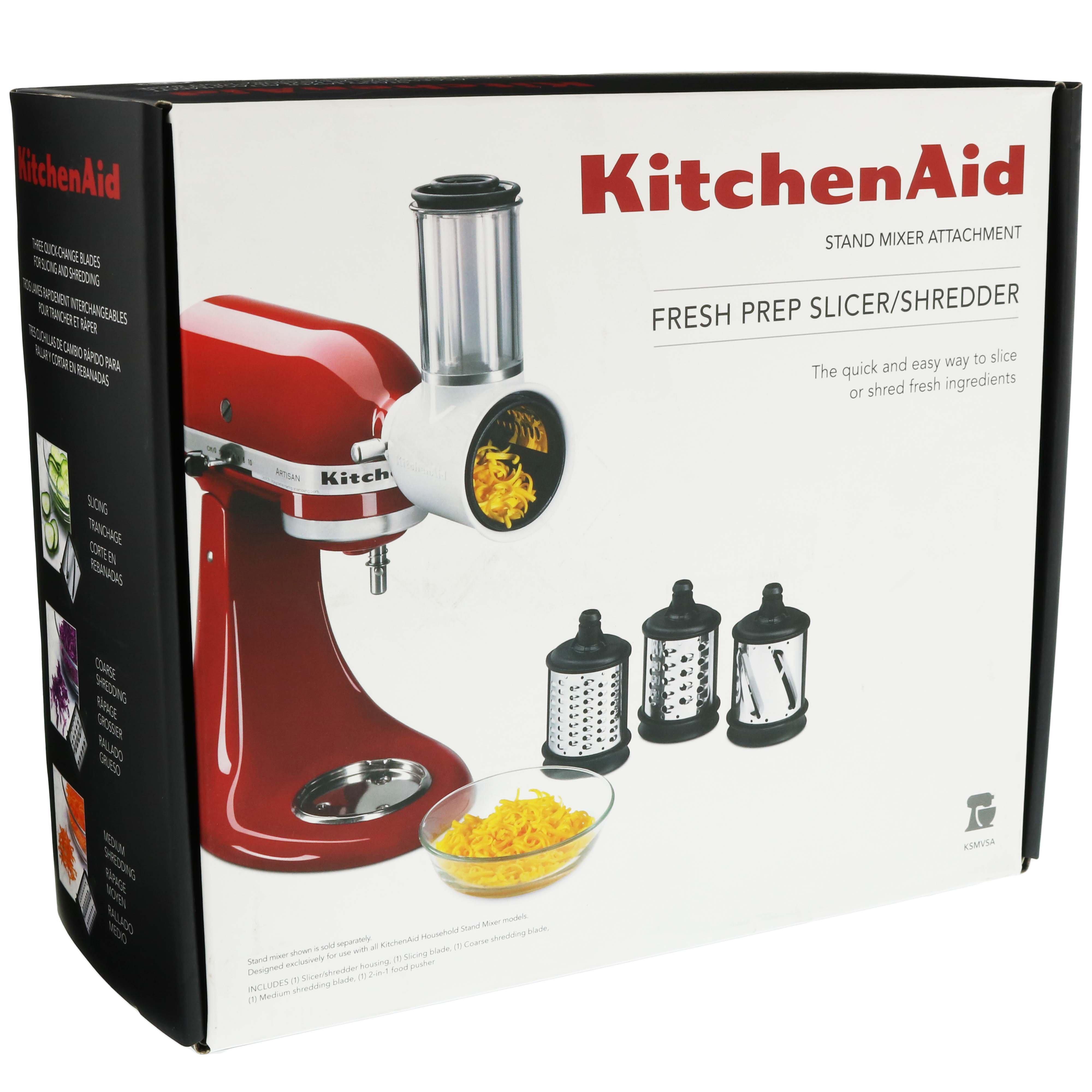 Kitchenaid Fresh Prep Slicer Shredder Attach For Stand Mixer Shop Utensils Gadgets At H E B