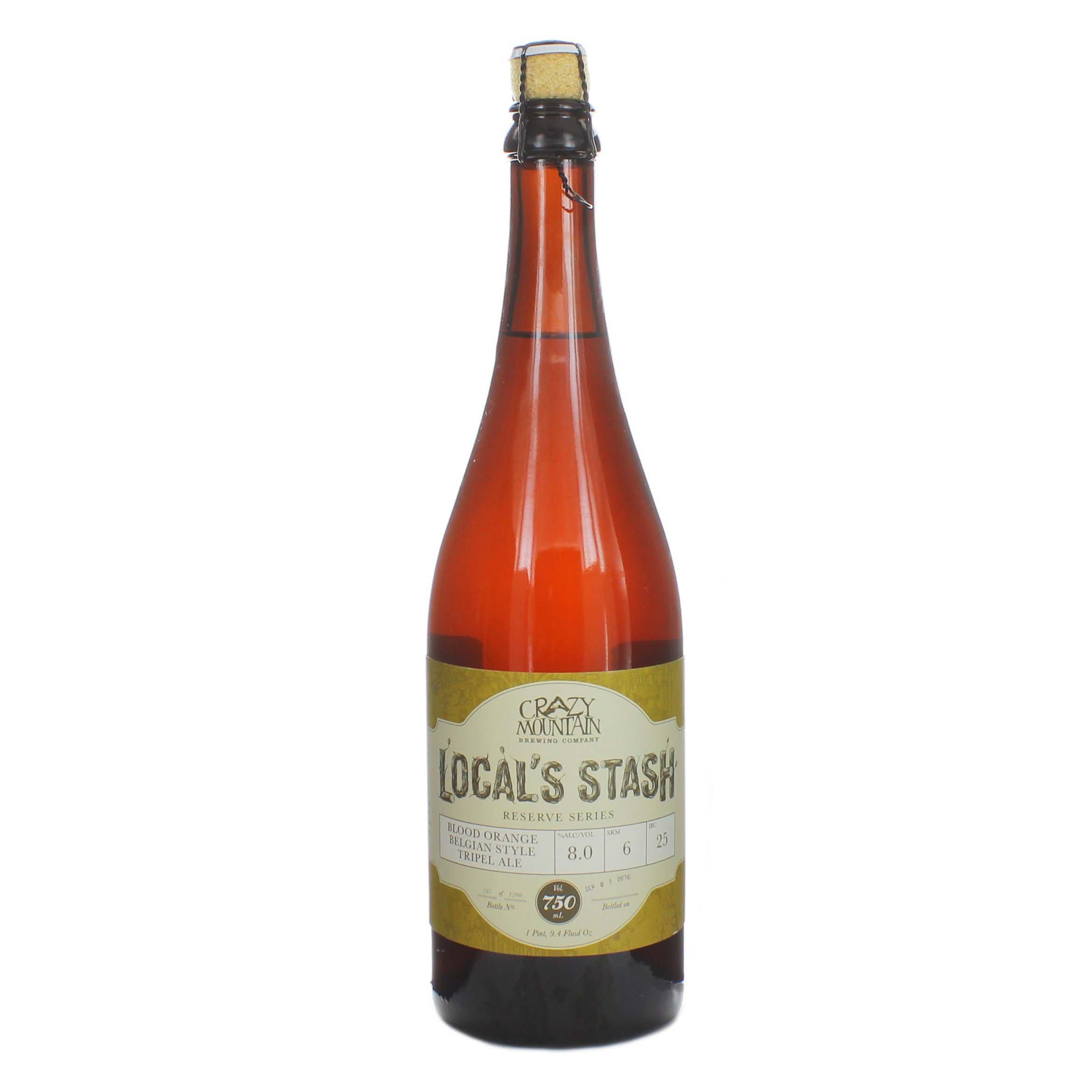Crazy Mountain Locals Stash Triple India Pale Ale