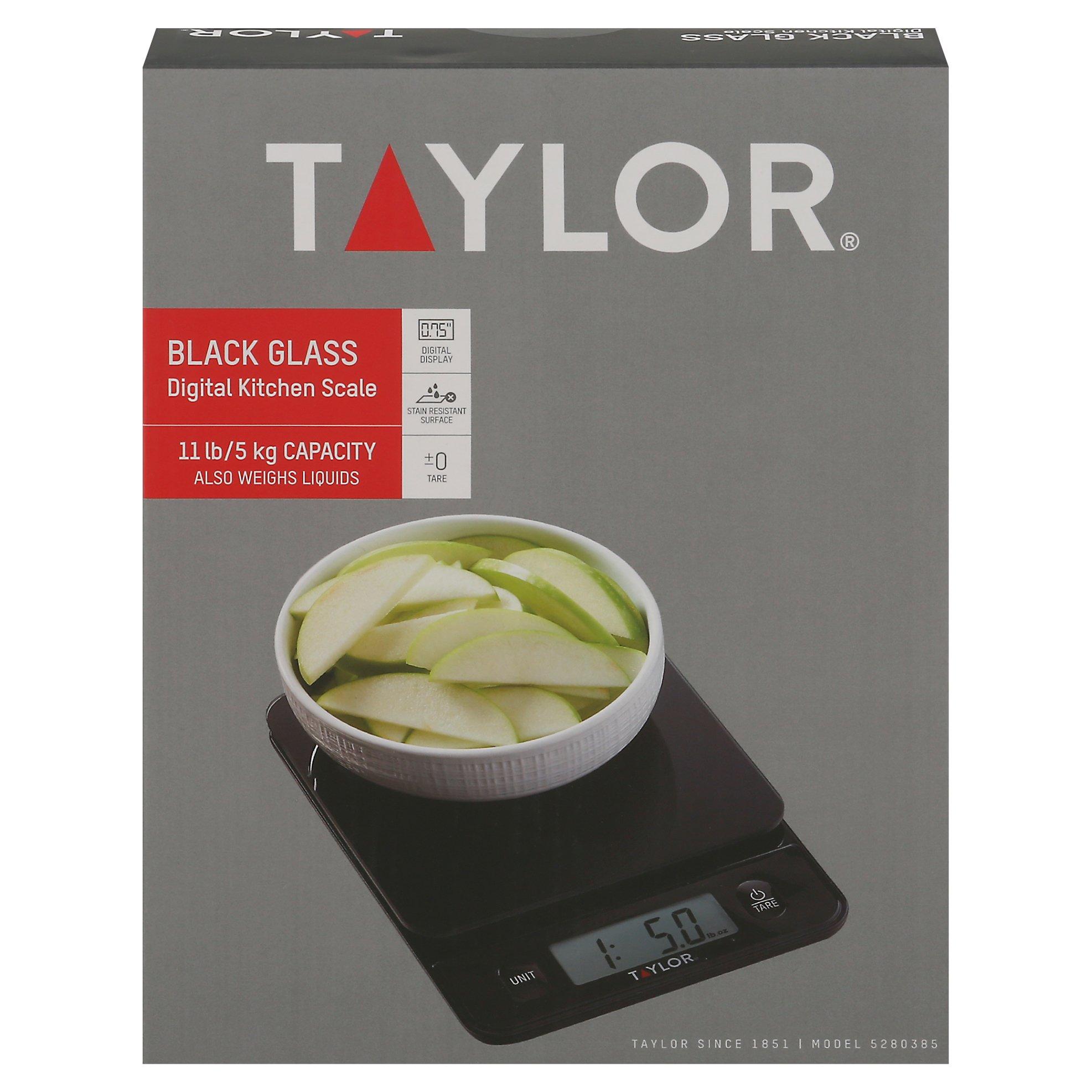 Taylor Digital Food Scale Black - Shop Taylor Digital Food Scale ...