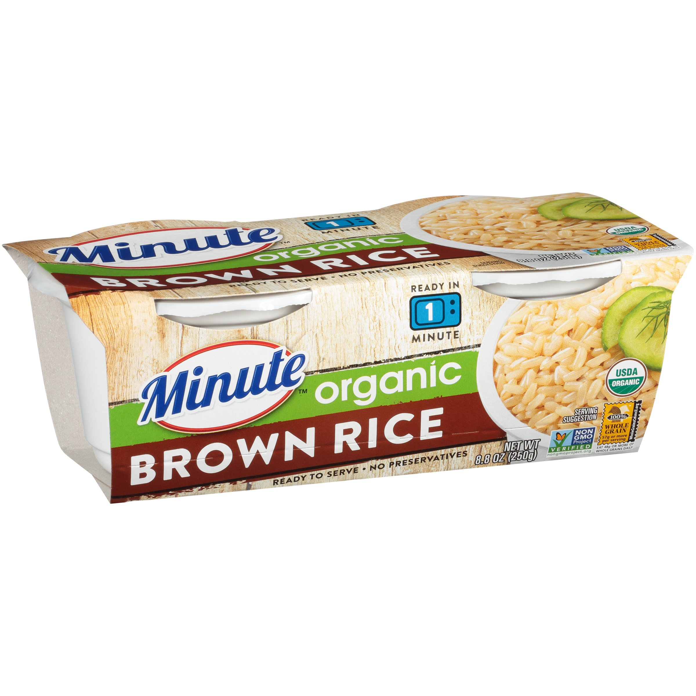 To Serve Organic Brown Rice Cups