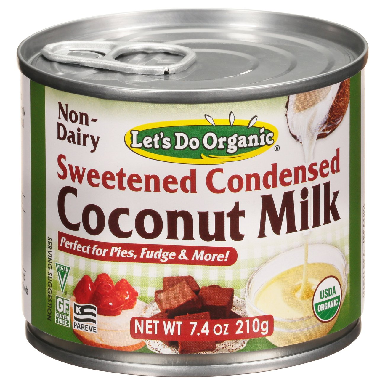 Let's Do... Organic Sweetened Condensed Organic Coconut Milk ‑ Shop  Evaporated Milk at H‑E‑B